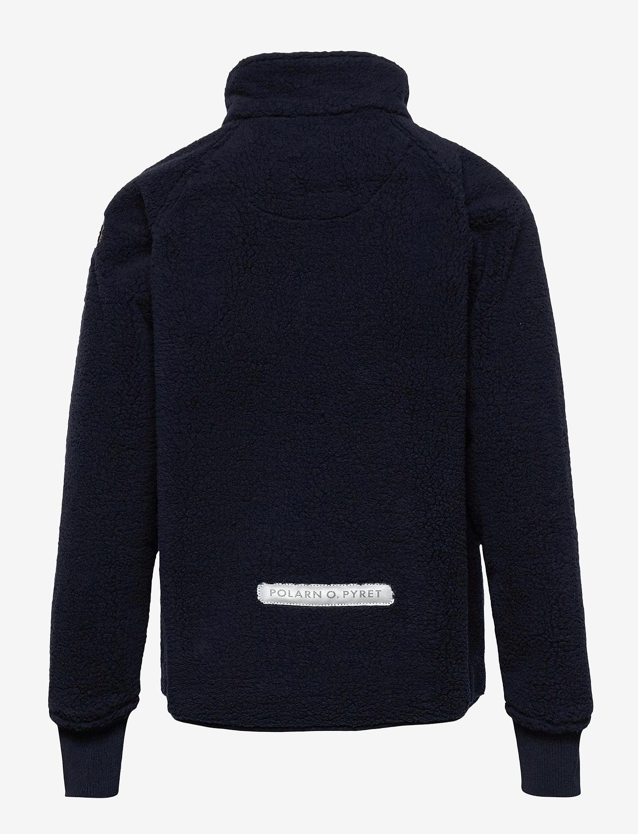 Polarn O. Pyret - Jacket Windfleece Solid - fleece - dark sapphire - 1