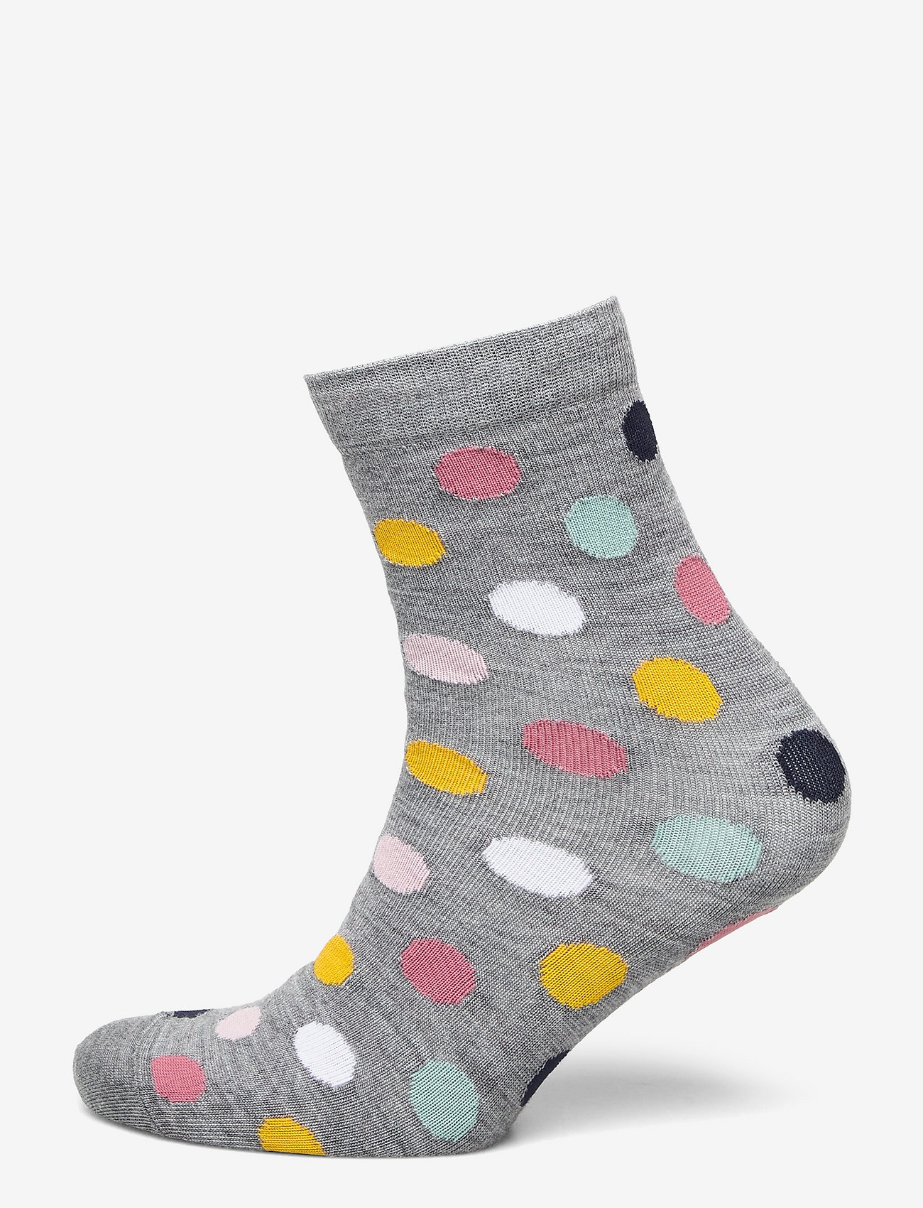 Polarn O. Pyret - Socks Wool Jaquard School - skarpetki - greymelange - 0