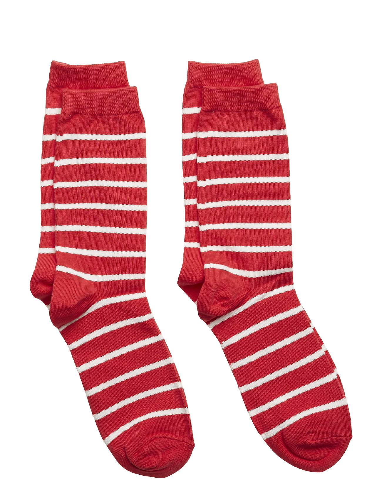 Polarn O. Pyret Socks 2-P PO.P Stripe - SKI PATROL