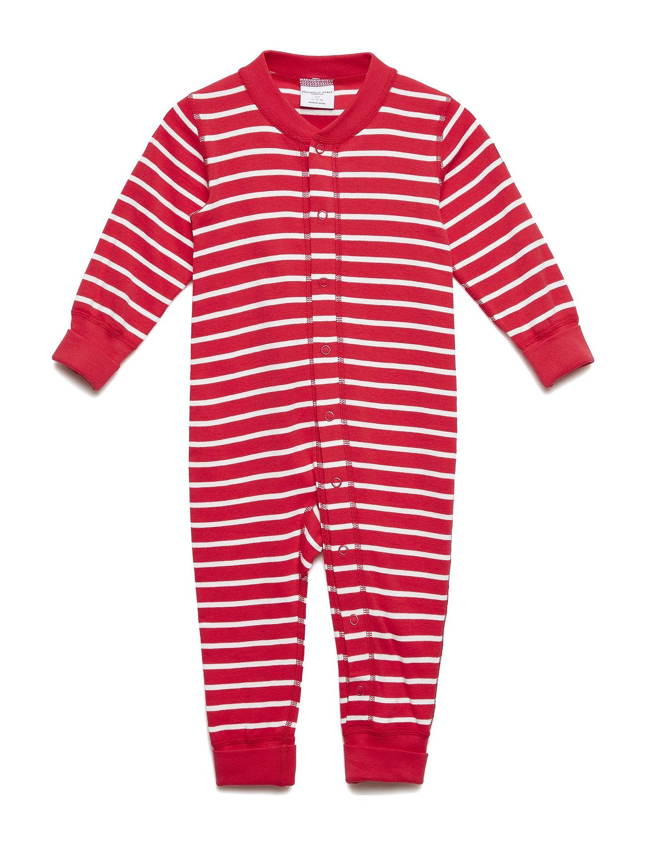 Polarn O. Pyret Overall PO.P Stripe Baby - SKI PATROL