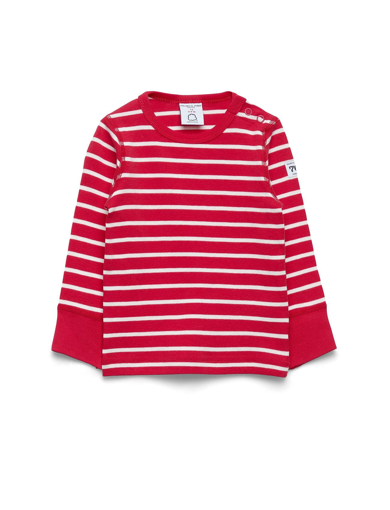 Polarn O. Pyret T-shirt l/s PO.P Stripe Baby