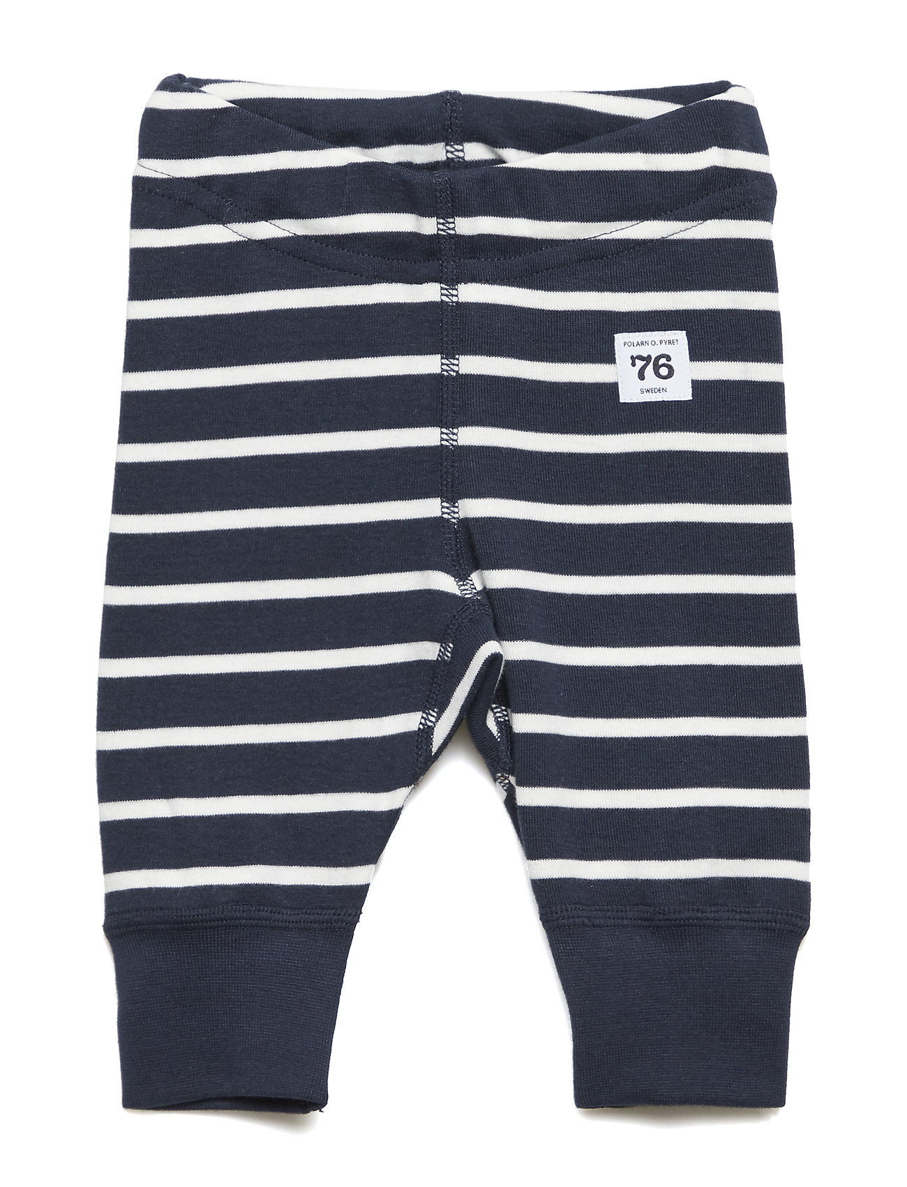 Polarn O. Pyret Long Johns PO.P Stripe Newborn - DARK SAPPHIRE