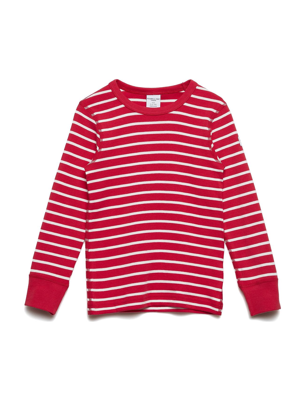 Polarn O. Pyret T-shirt l/s PO.P Stripe - SKI PATROL