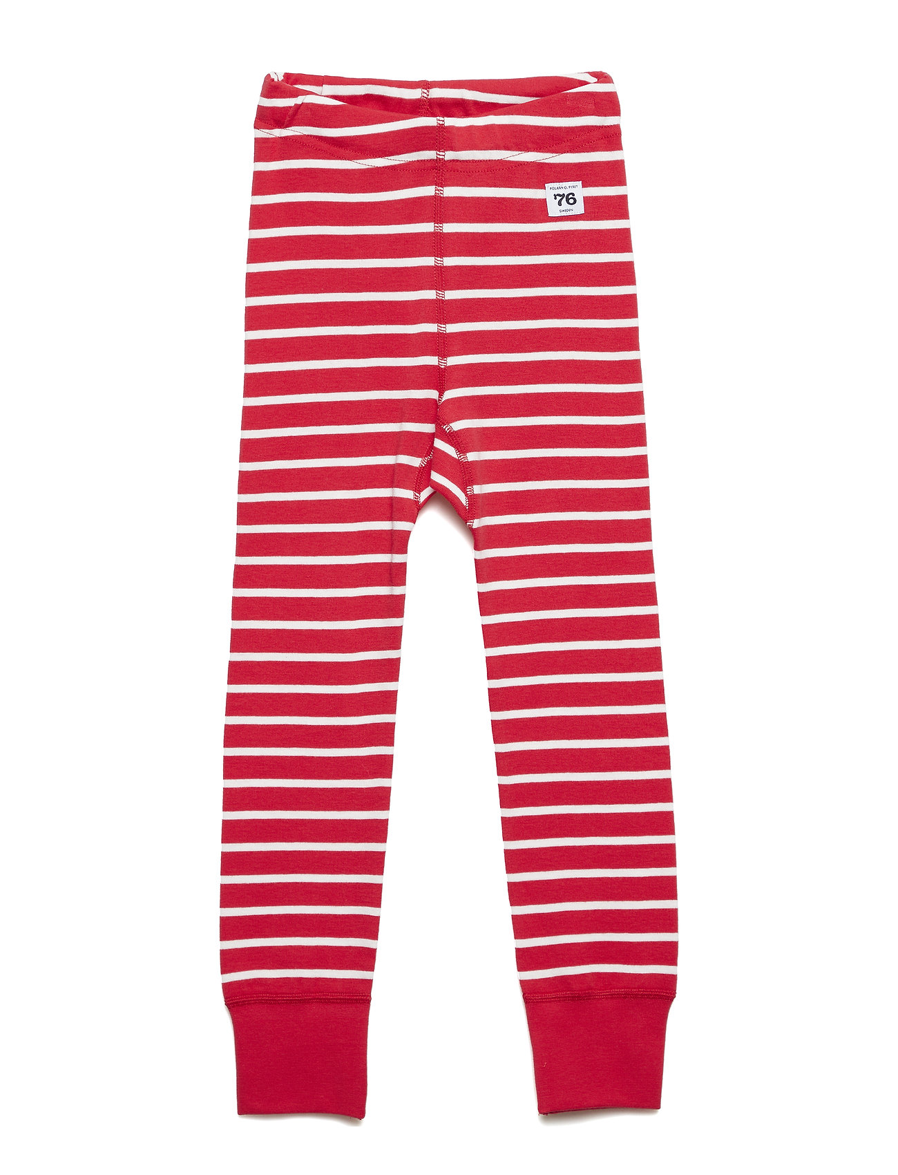 Polarn O. Pyret Long Johns PO.P Stripe - SKI PATROL