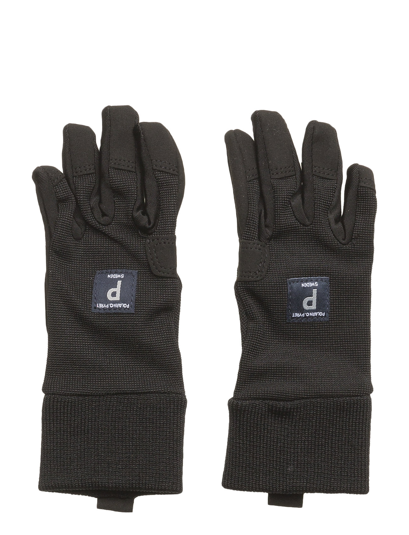 Polarn O. Pyret Glove Solid Preschool - METEORITE
