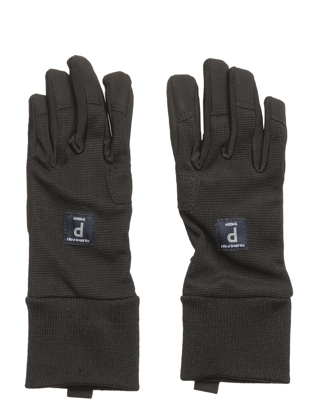 Polarn O. Pyret Glove Solid School - METEORITE