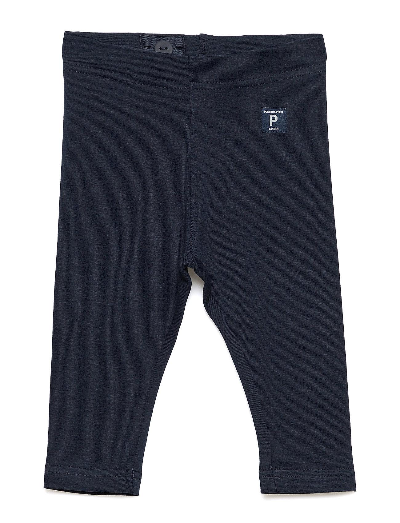 Polarn O. Pyret Leggings Solid Baby - DARK SAPPHIRE