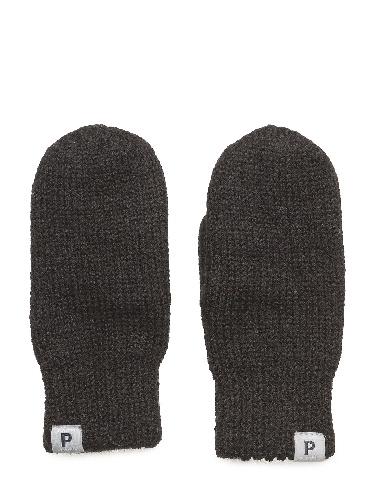 Polarn O. Pyret Mitten Wool Baby - BLACK