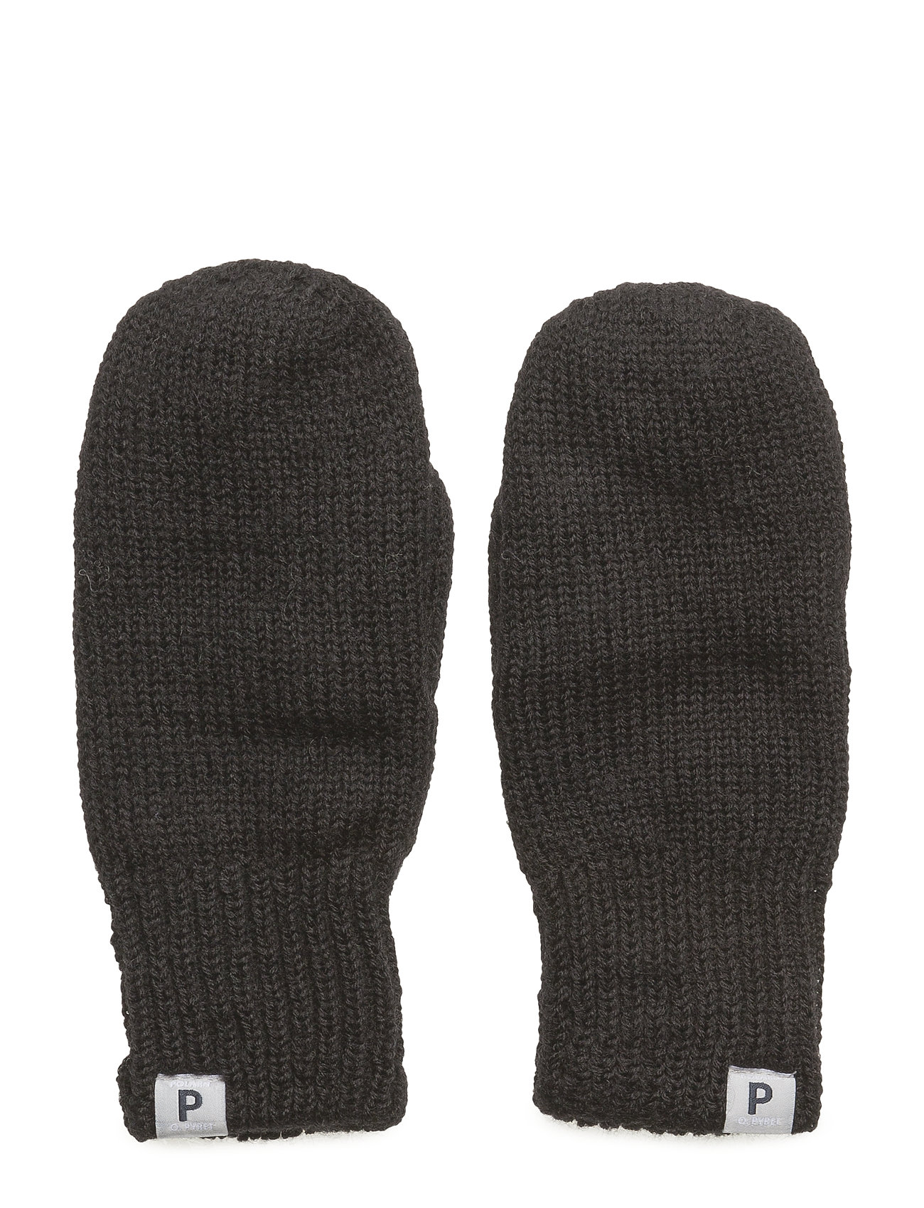 Polarn O. Pyret Mitten Wool Preschool - BLACK