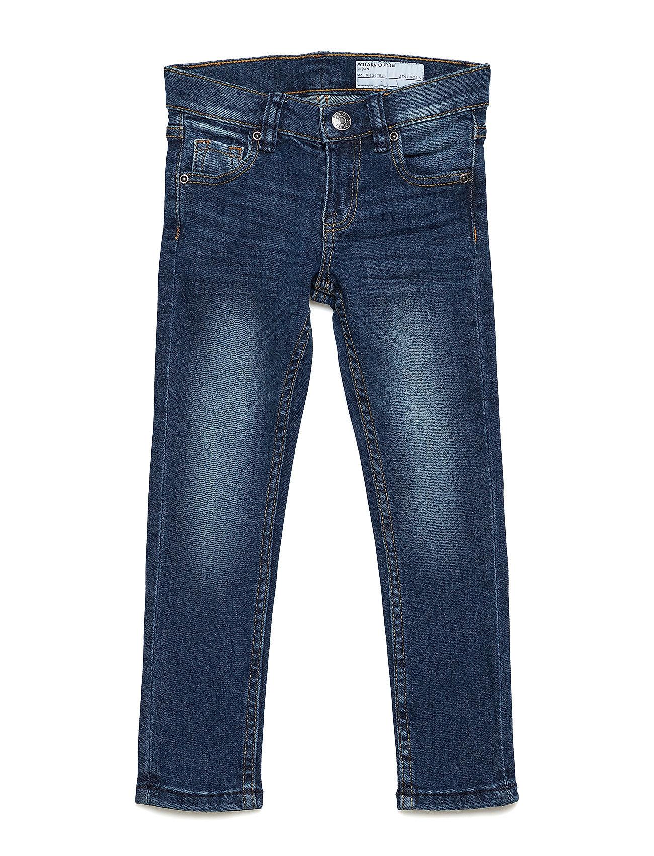 Polarn O. Pyret Jeans Slim Preschool - BLUE DENIM