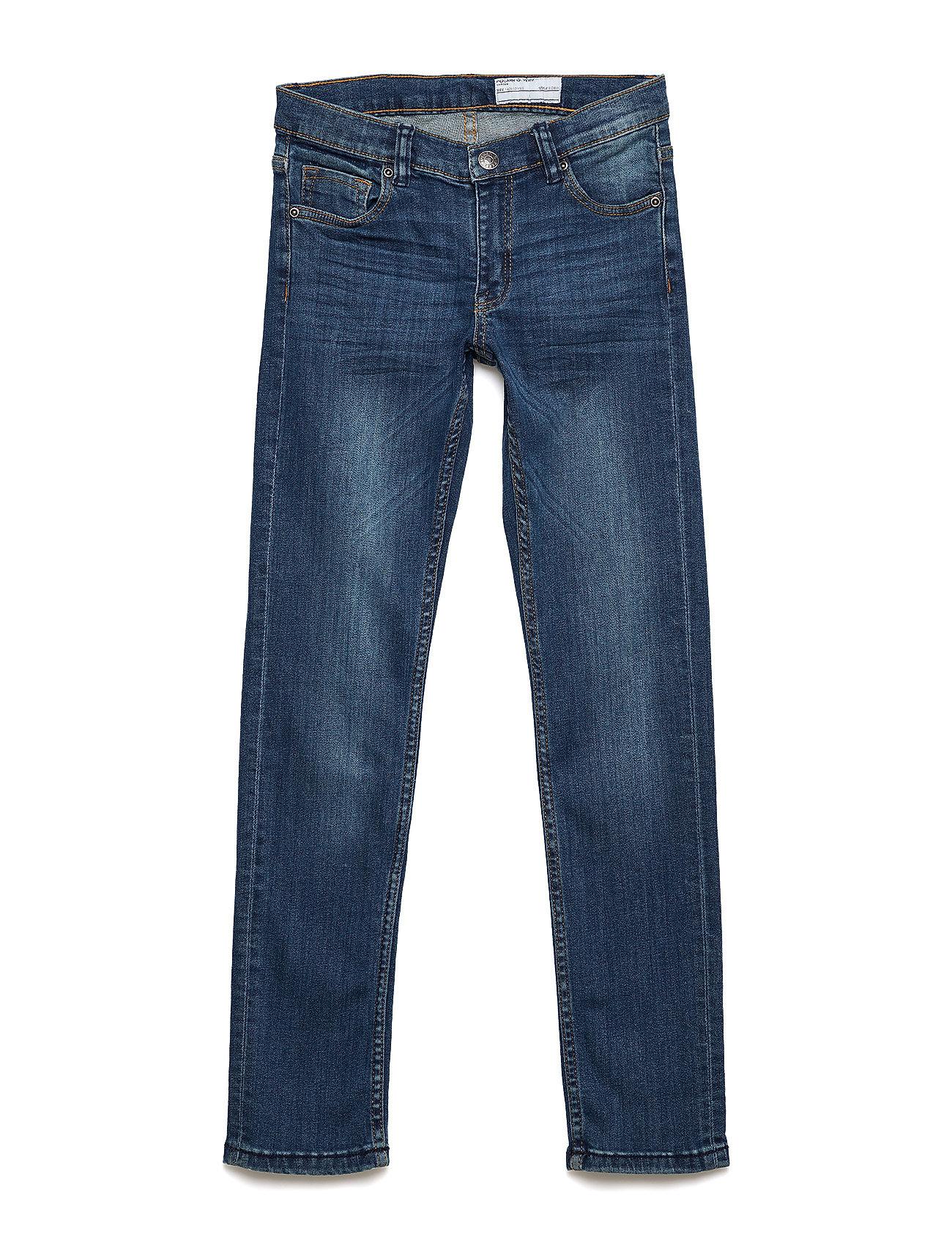 Polarn O. Pyret Jeans Slim School - BLUE DENIM