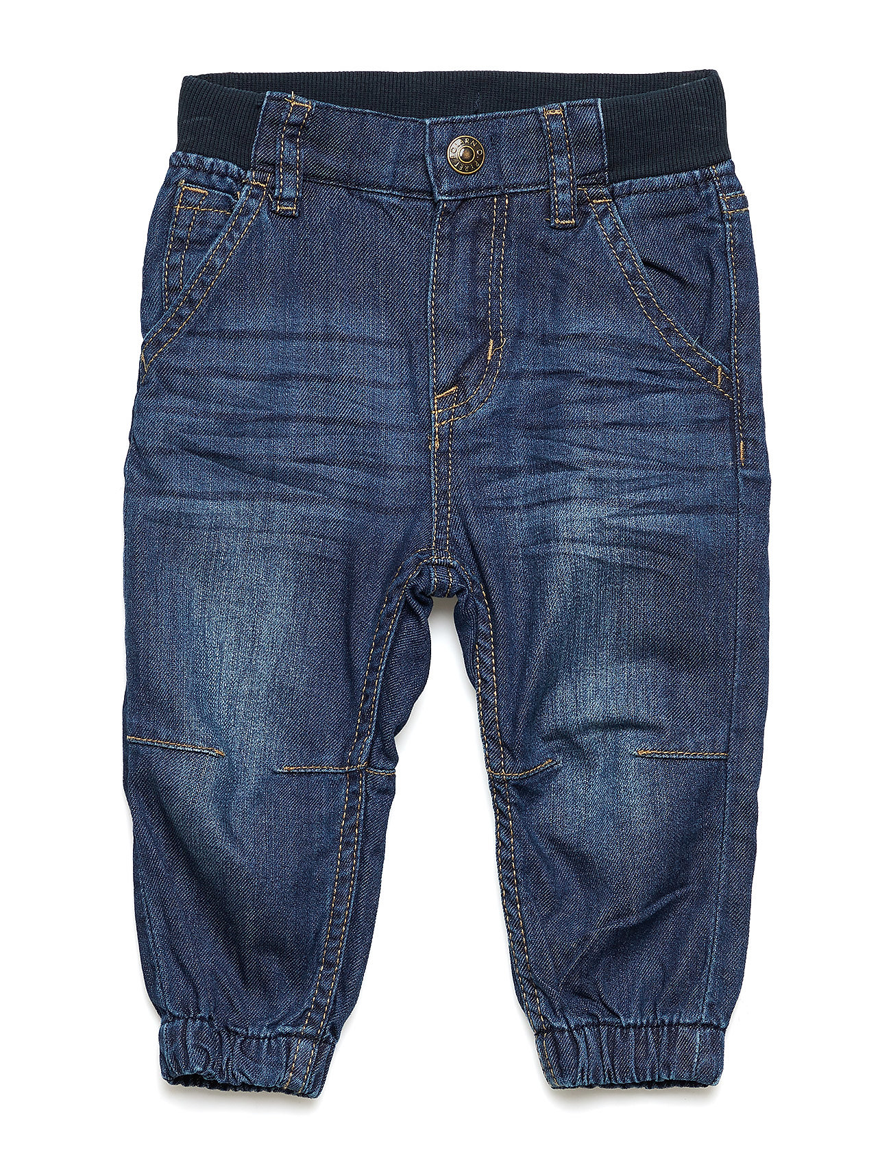 Polarn O. Pyret Trousers Woven Baby - BLUE DENIM