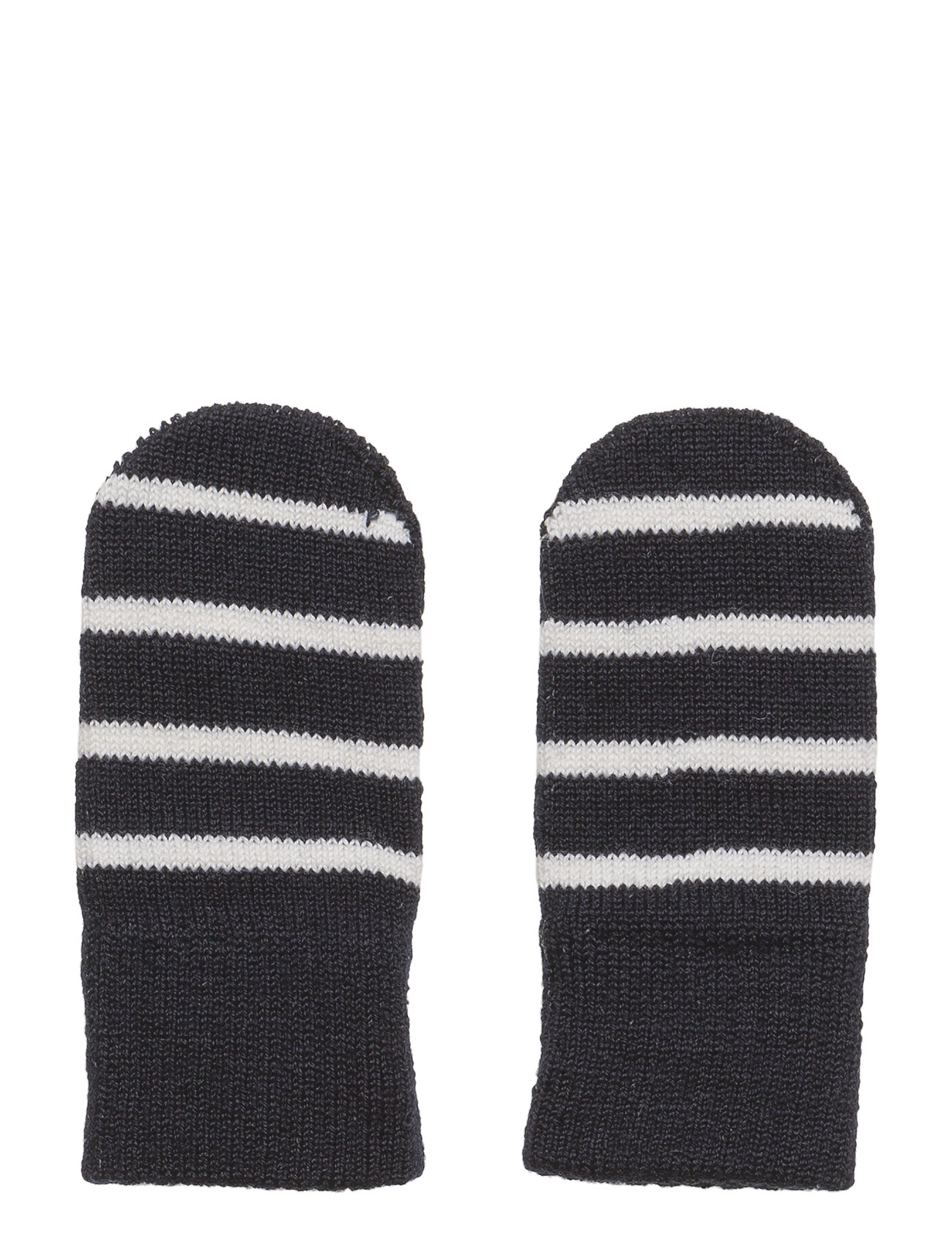 Polarn O. Pyret Mitten Wool PO.P Stripe Newborn