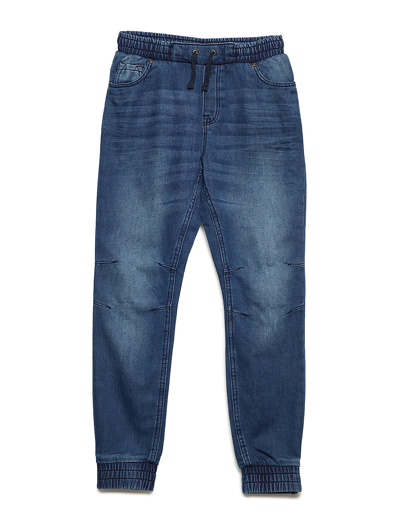 Polarn O. Pyret Trouser Woven School - BLUE DENIM