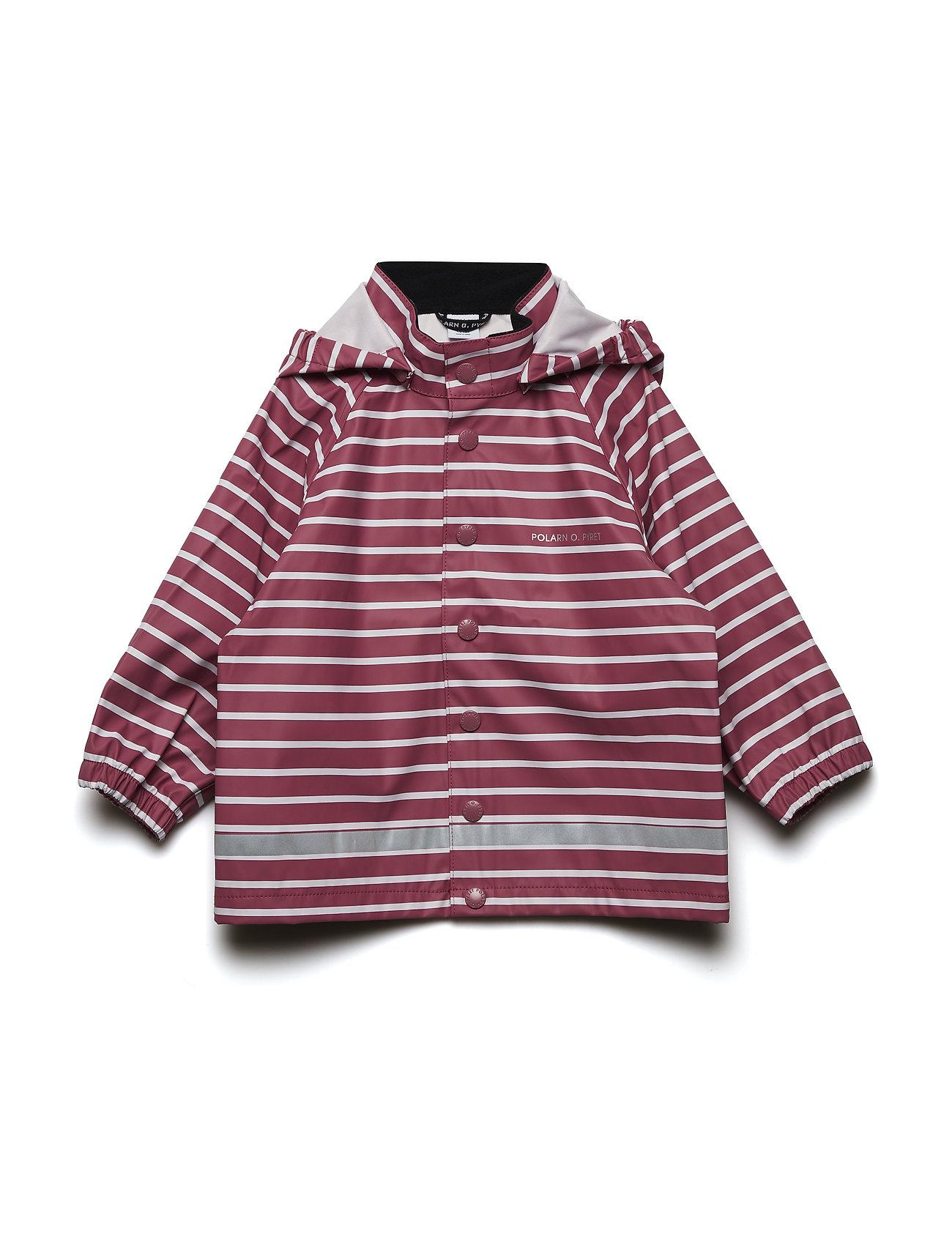 Polarn O. Pyret Rain Jacket Stripe Baby