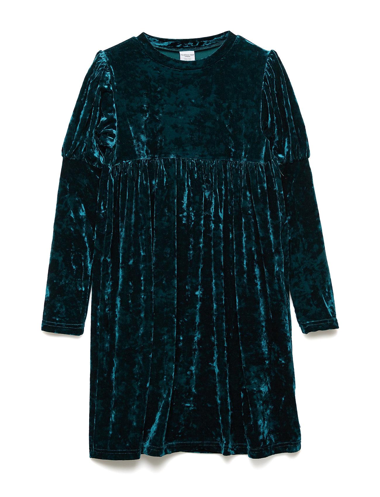 Polarn O. Pyret Dress Long Sleeve School - ATLANTIC DEEP