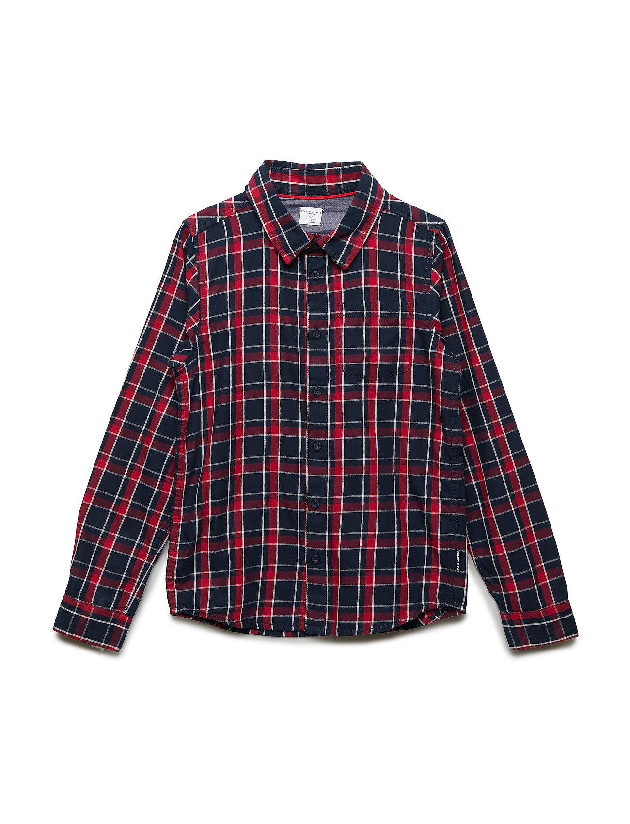 Polarn O. Pyret Shirt Long Sleeve Checked School