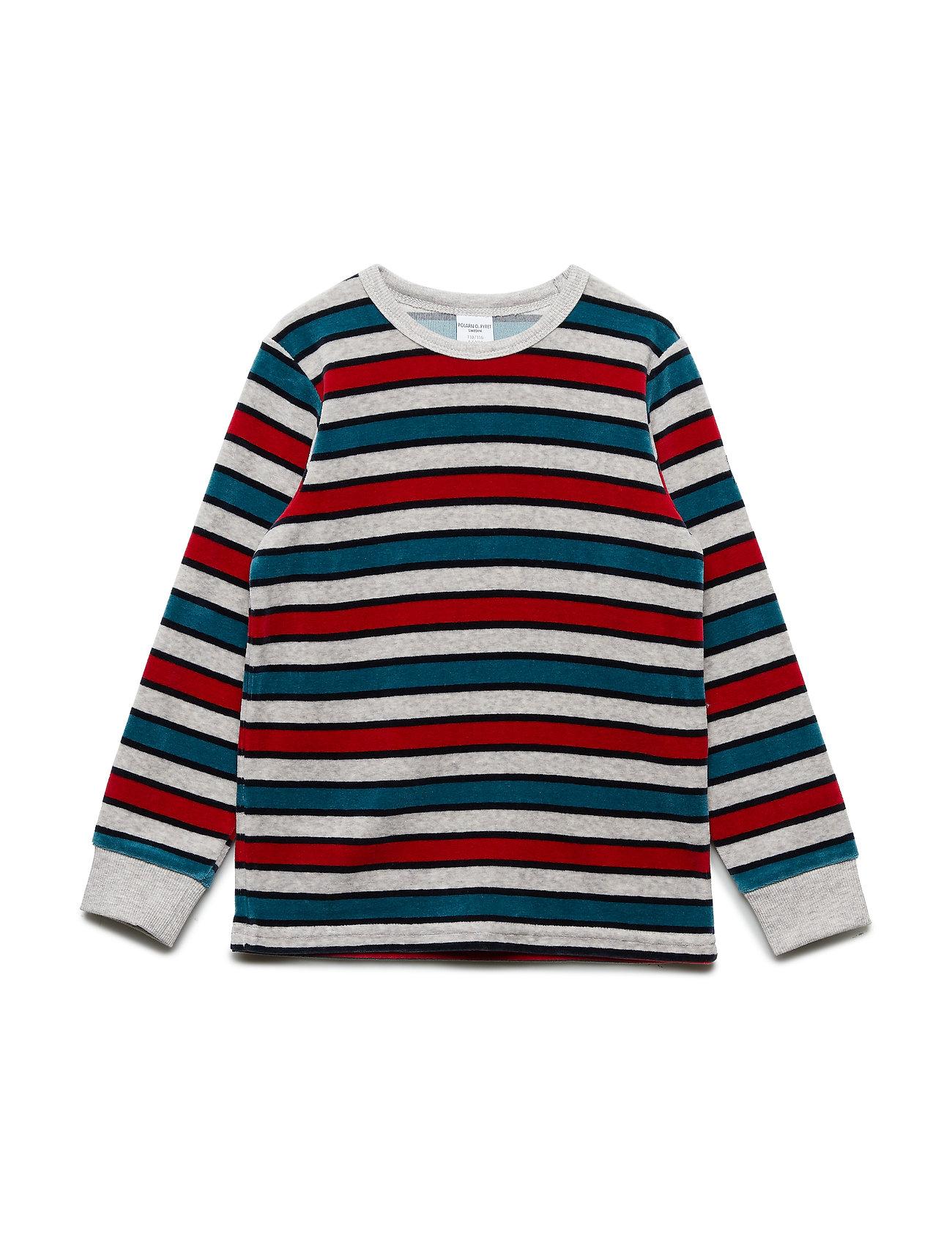 Polarn O. Pyret Velour Long Sleeve striped Pre-school
