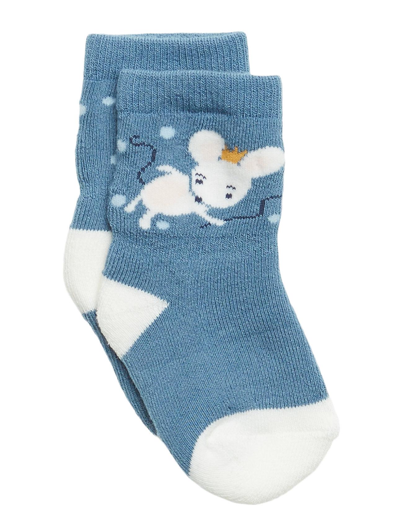 Polarn O. Pyret Socks Printed Newborn