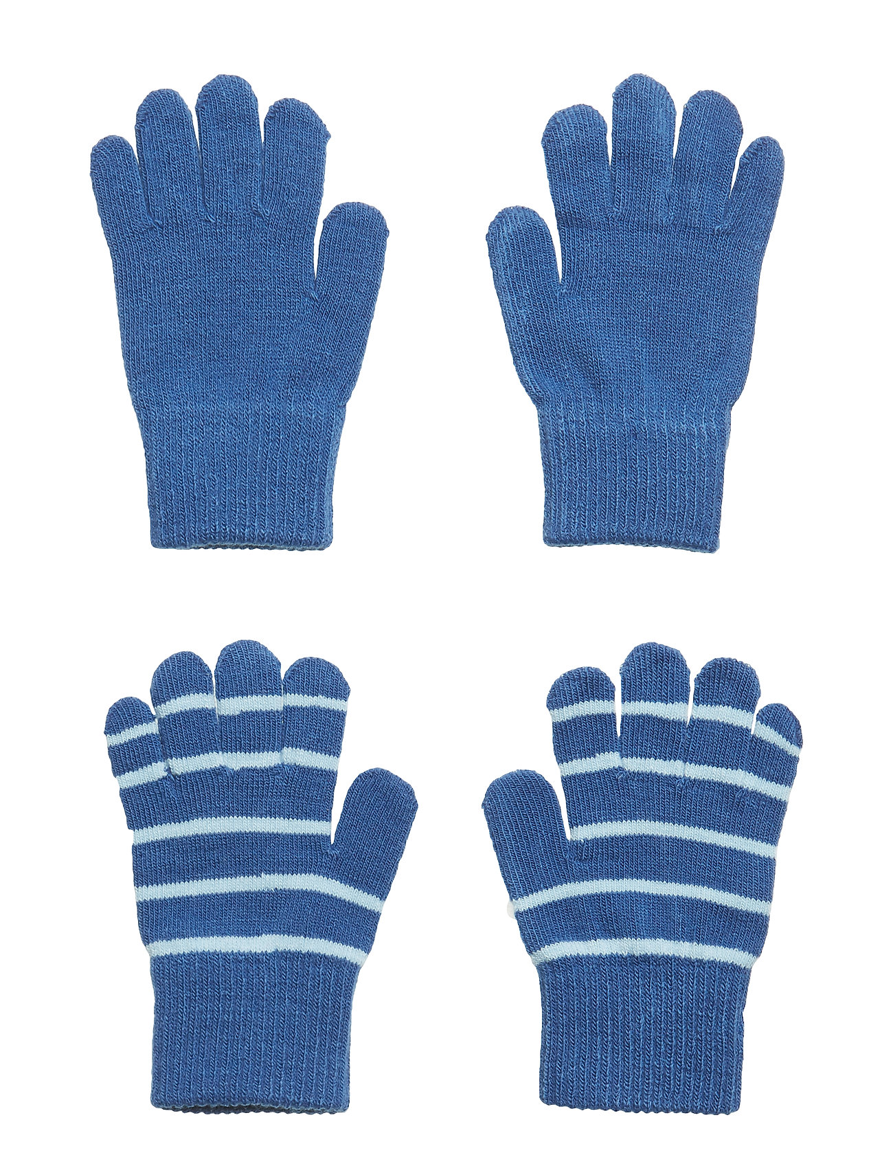 Polarn O. Pyret Knitted Magic Gloves in Pack of 2