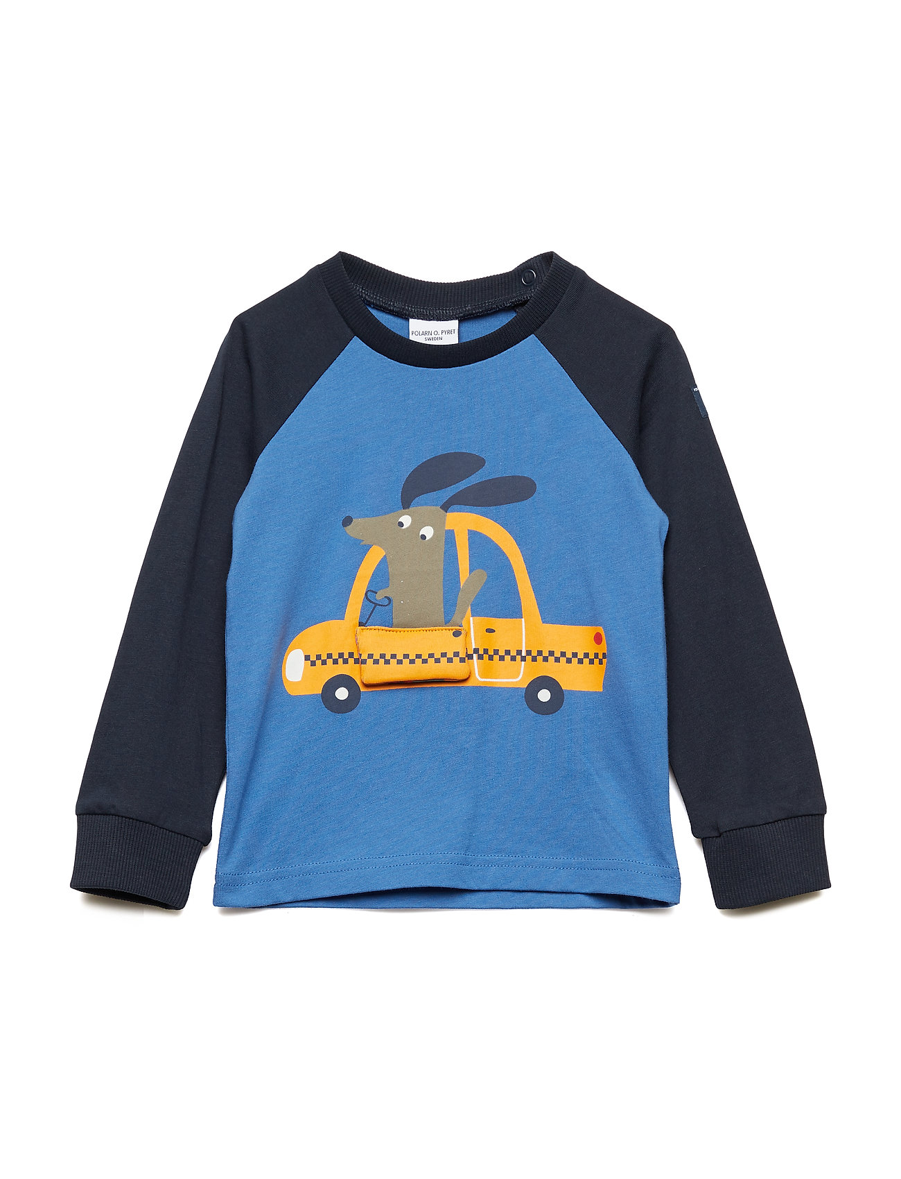 Polarn O. Pyret T-shirt Long Sleeve applique  Preschool