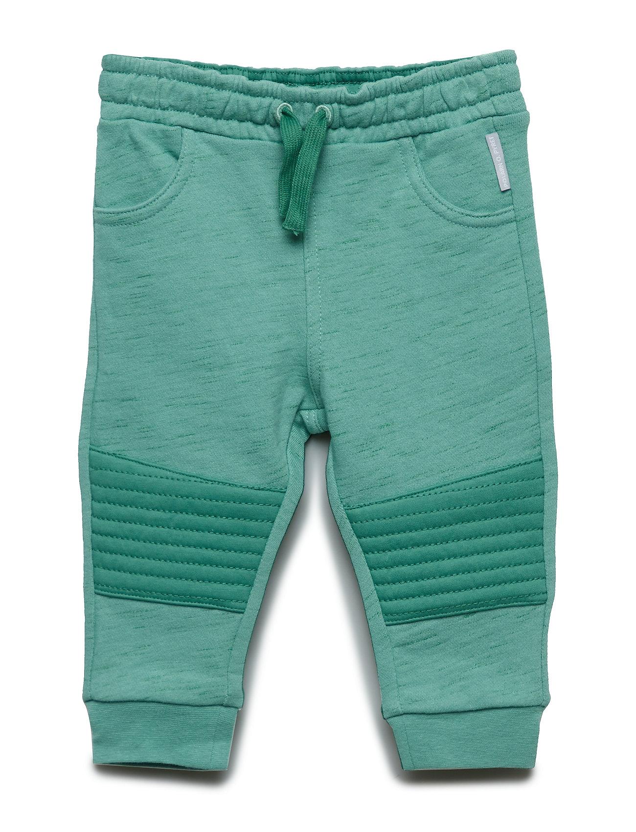 Polarn O. Pyret Trousers jersey Baby - MALACHITE GREEN