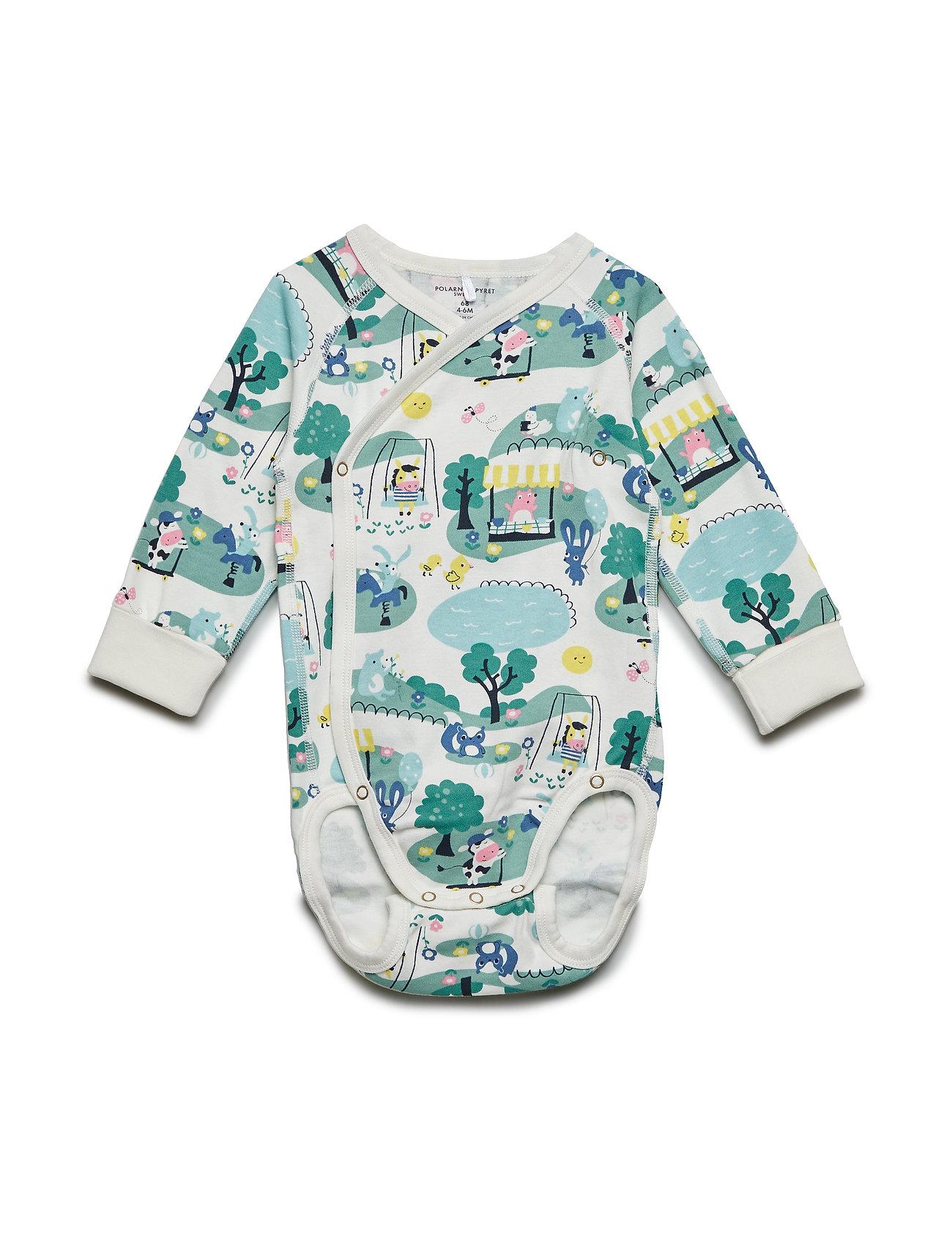 Polarn O. Pyret Body Wrapover with print Baby