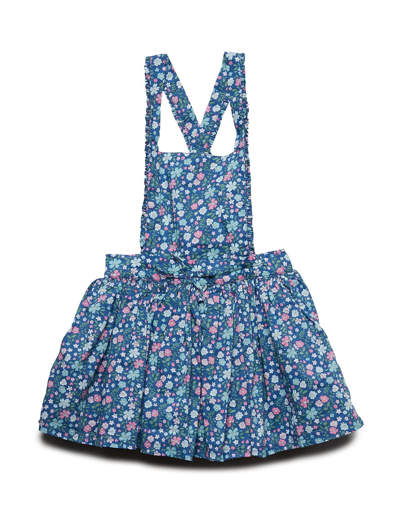 Polarn O. Pyret Dungaree Dress Solid Preschool