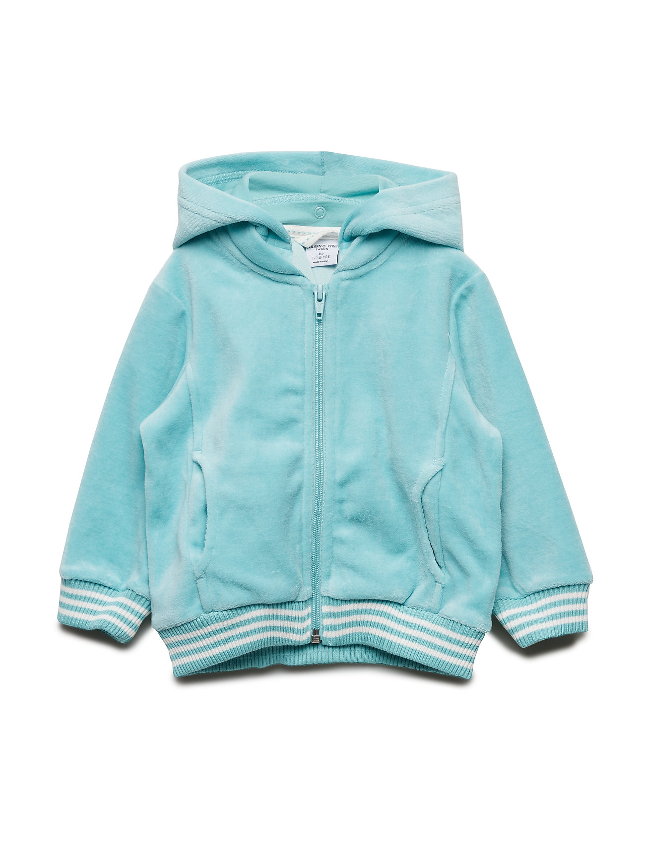 Polarn O. Pyret Zip Up velour Solid Pre-school