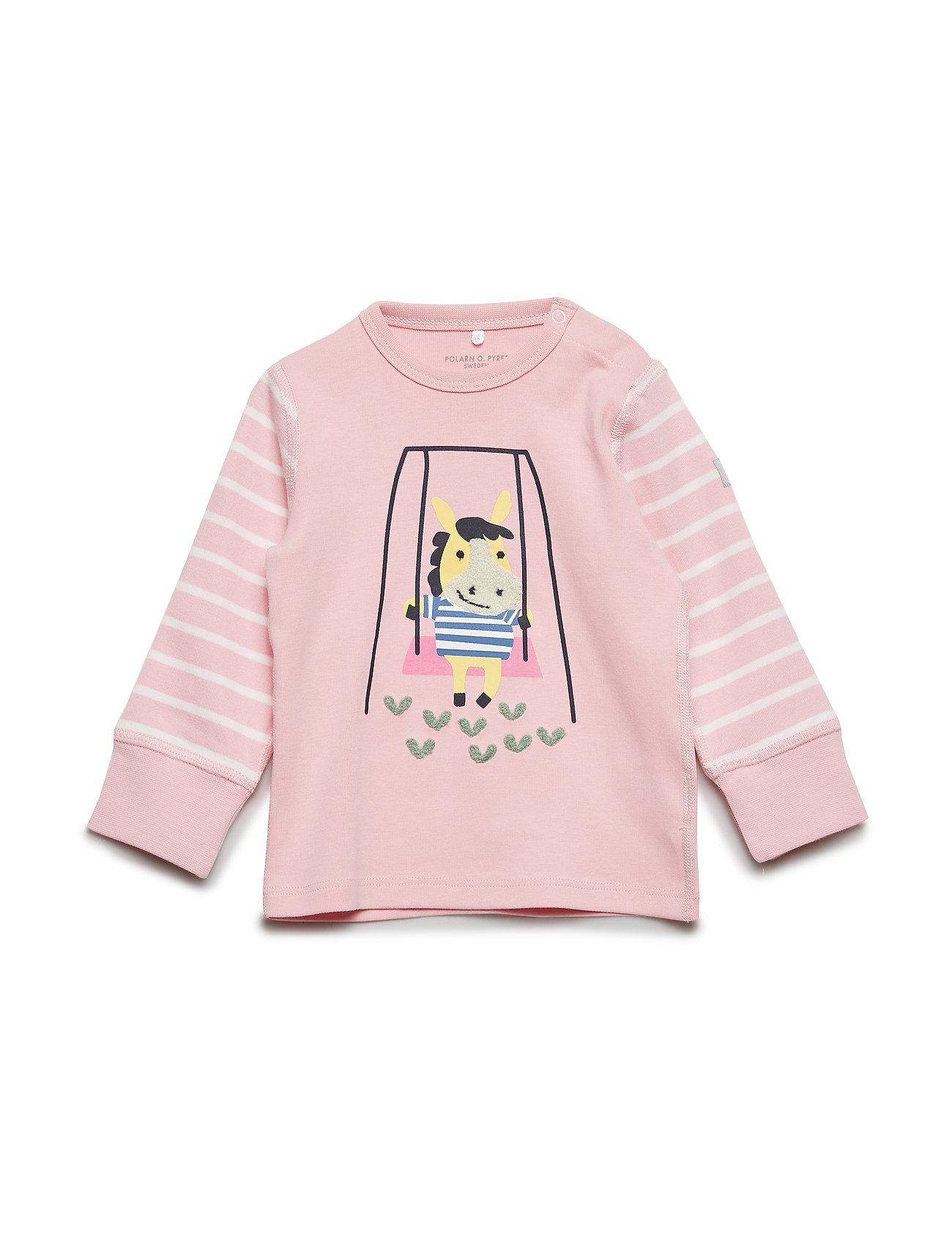 Polarn O. Pyret T-shirt Long Sleeve PO.P Stripe Baby