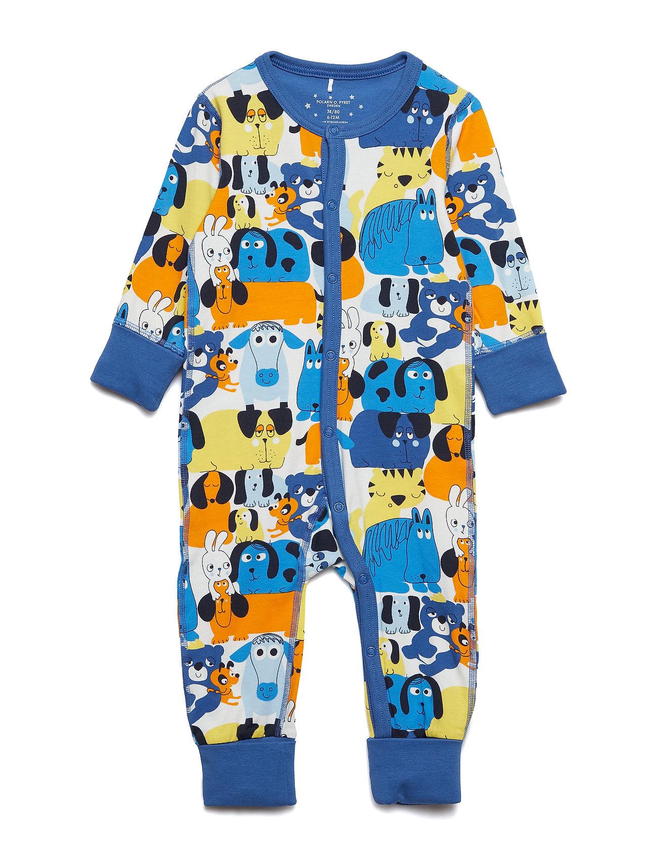 Polarn O. Pyret Pyjamas Overall with print Baby