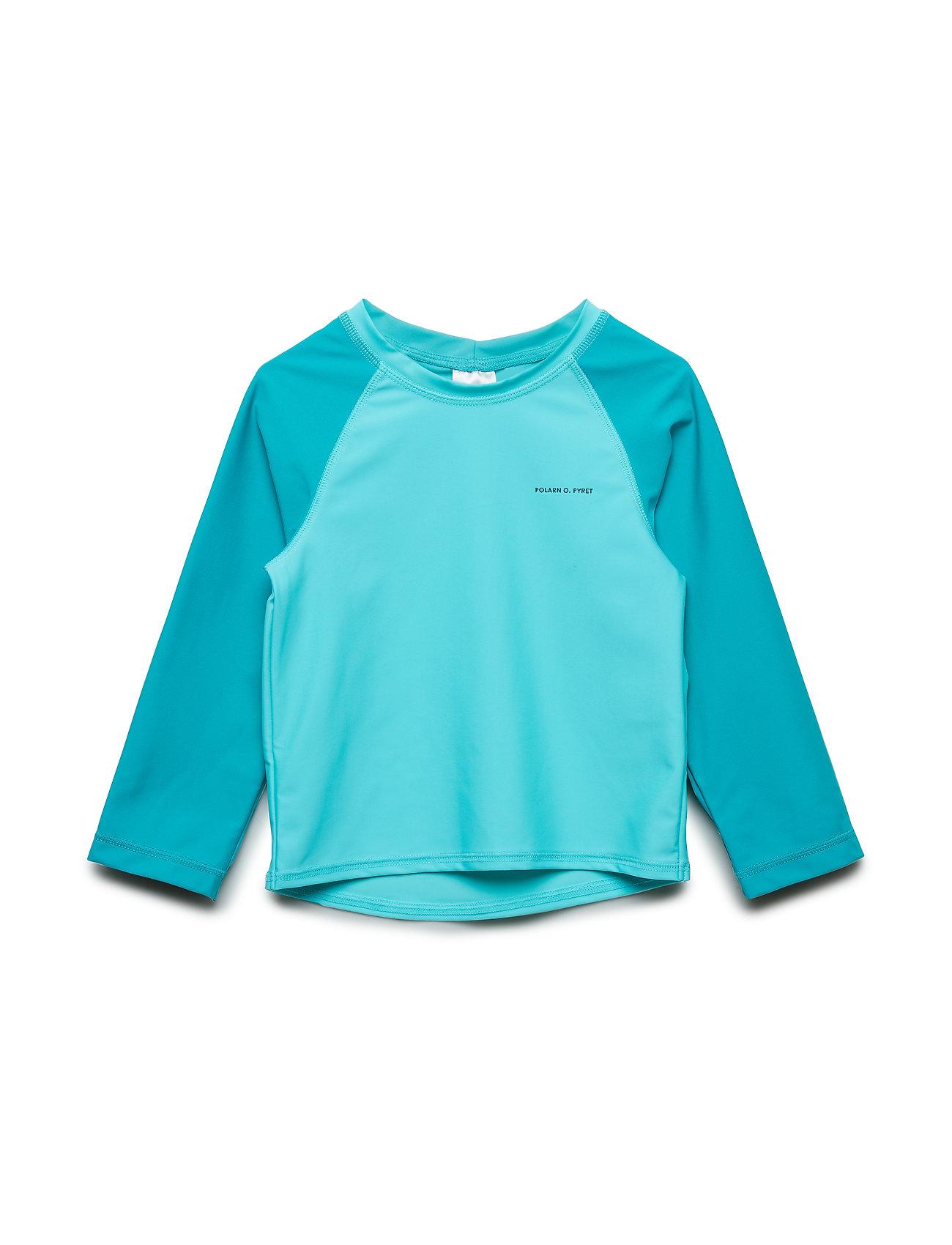 Polarn O. Pyret Swimwear Top l/s UPF Preschool