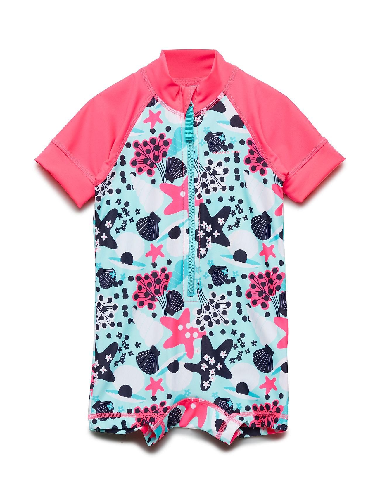 Polarn O. Pyret Swimsuit Short UPF AOP Baby