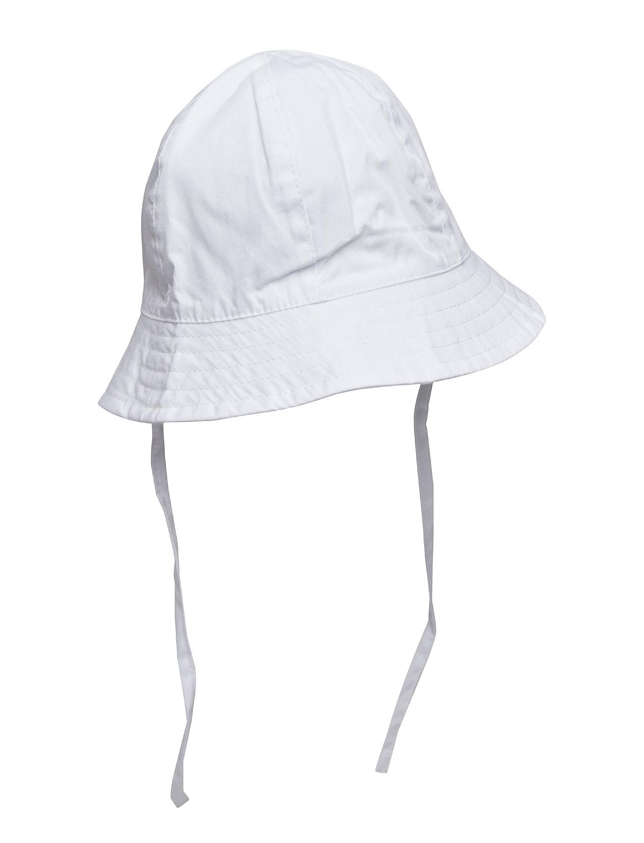 Polarn O. Pyret Sunhat UV Solid Preschool - SNOW WHITE