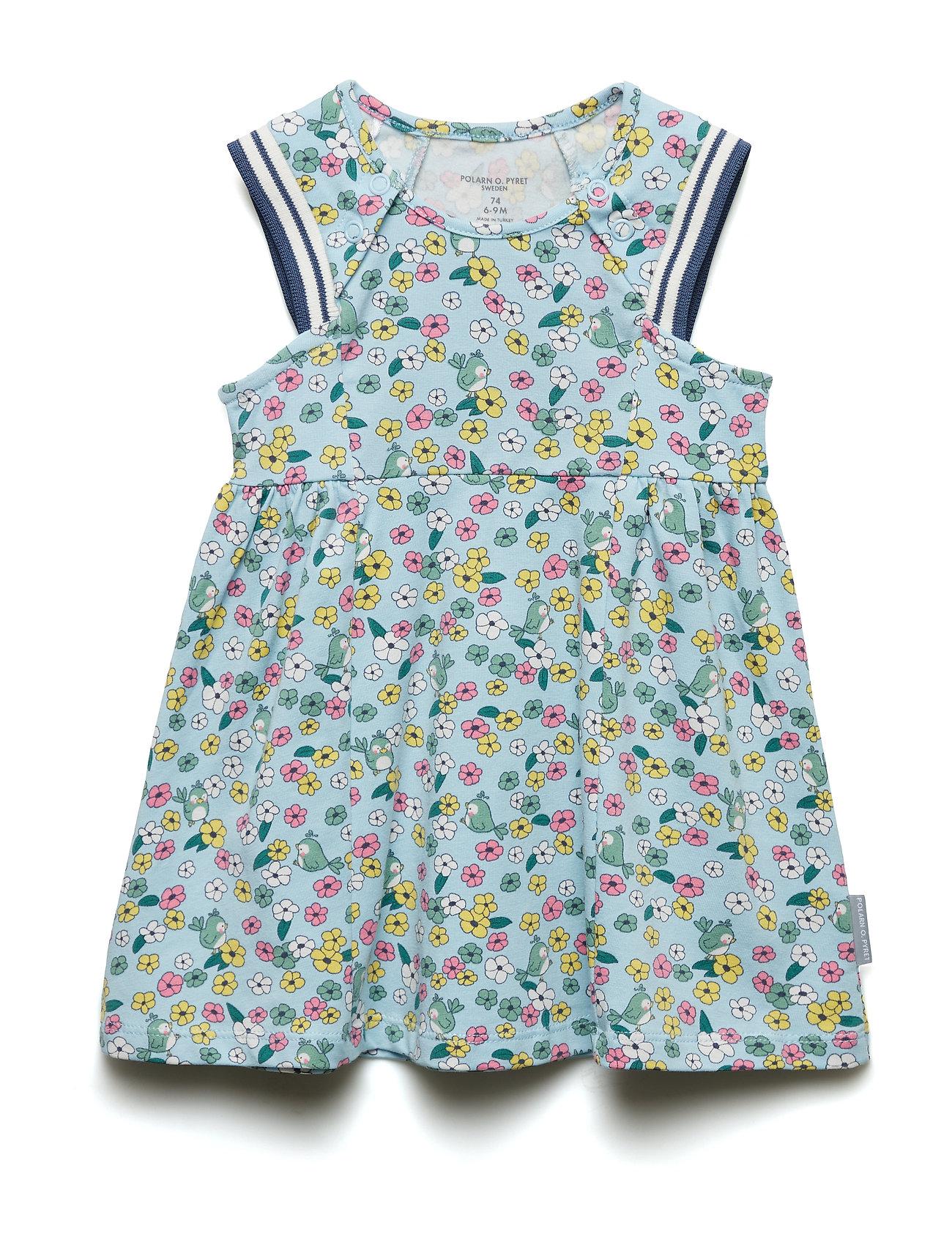 Polarn O. Pyret Dress S/S AOP Baby