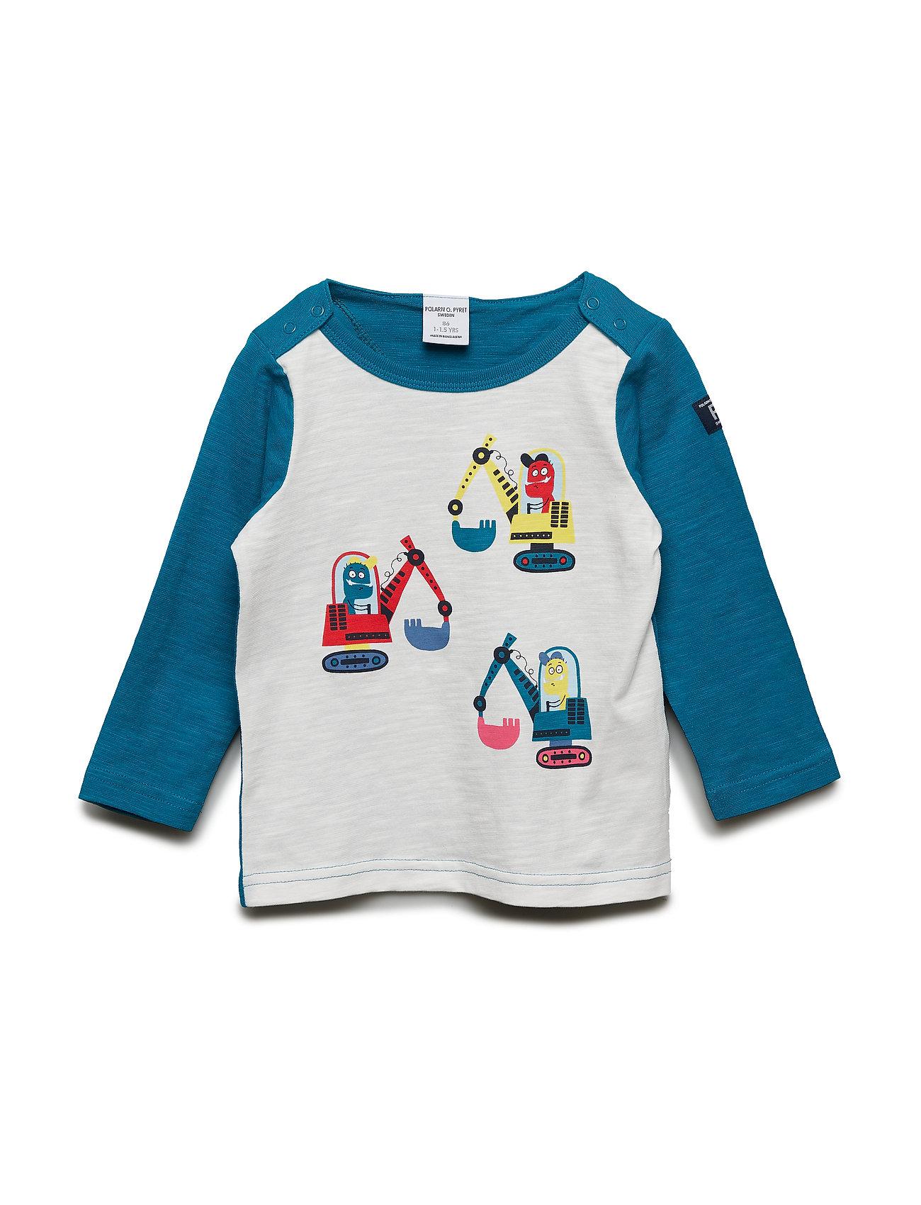 Polarn O. Pyret T-shirt l/s front print Preschool