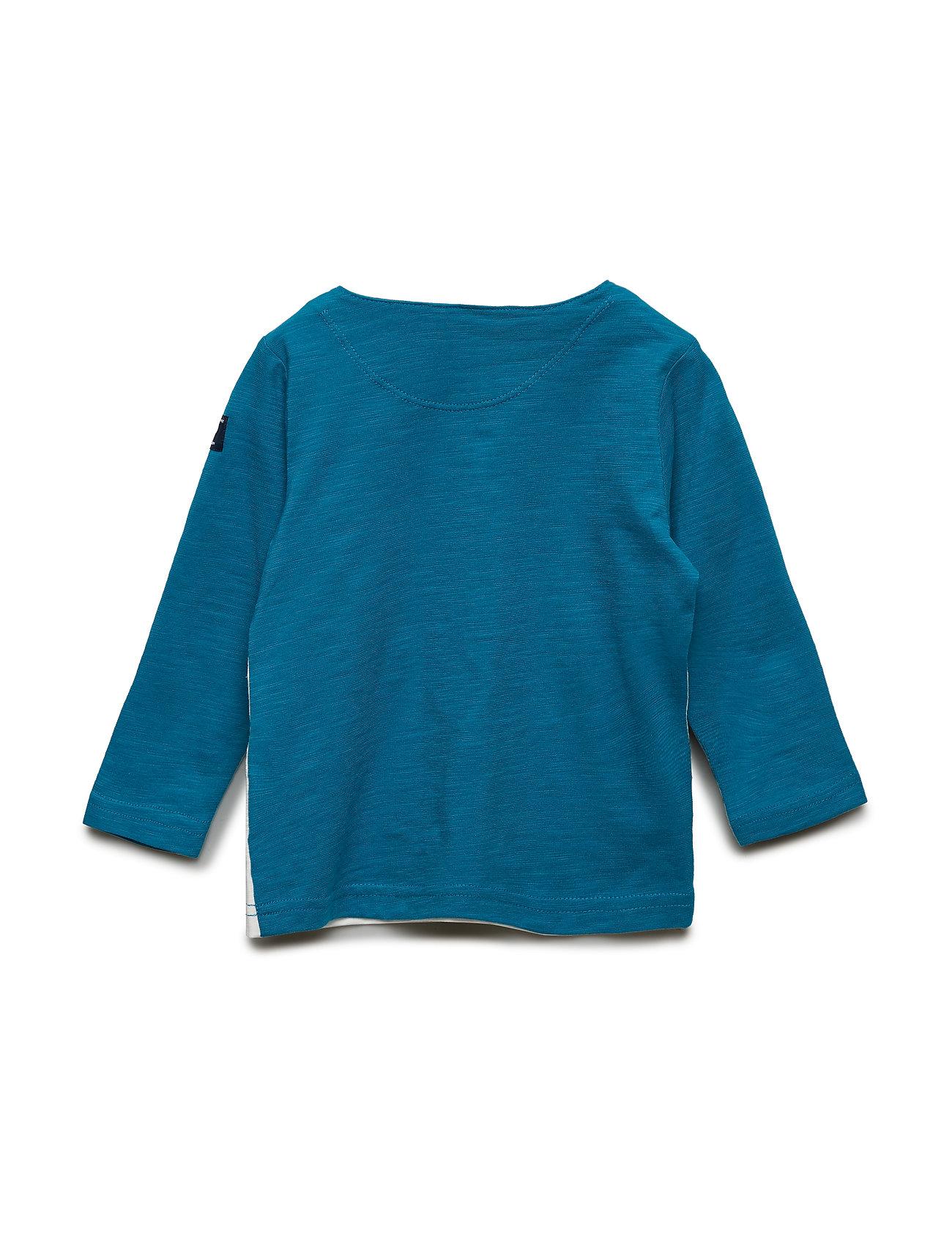 T Shirt LS Front Print Preschool Langærmet T shirt Multimønstret POLARN O. PYRET