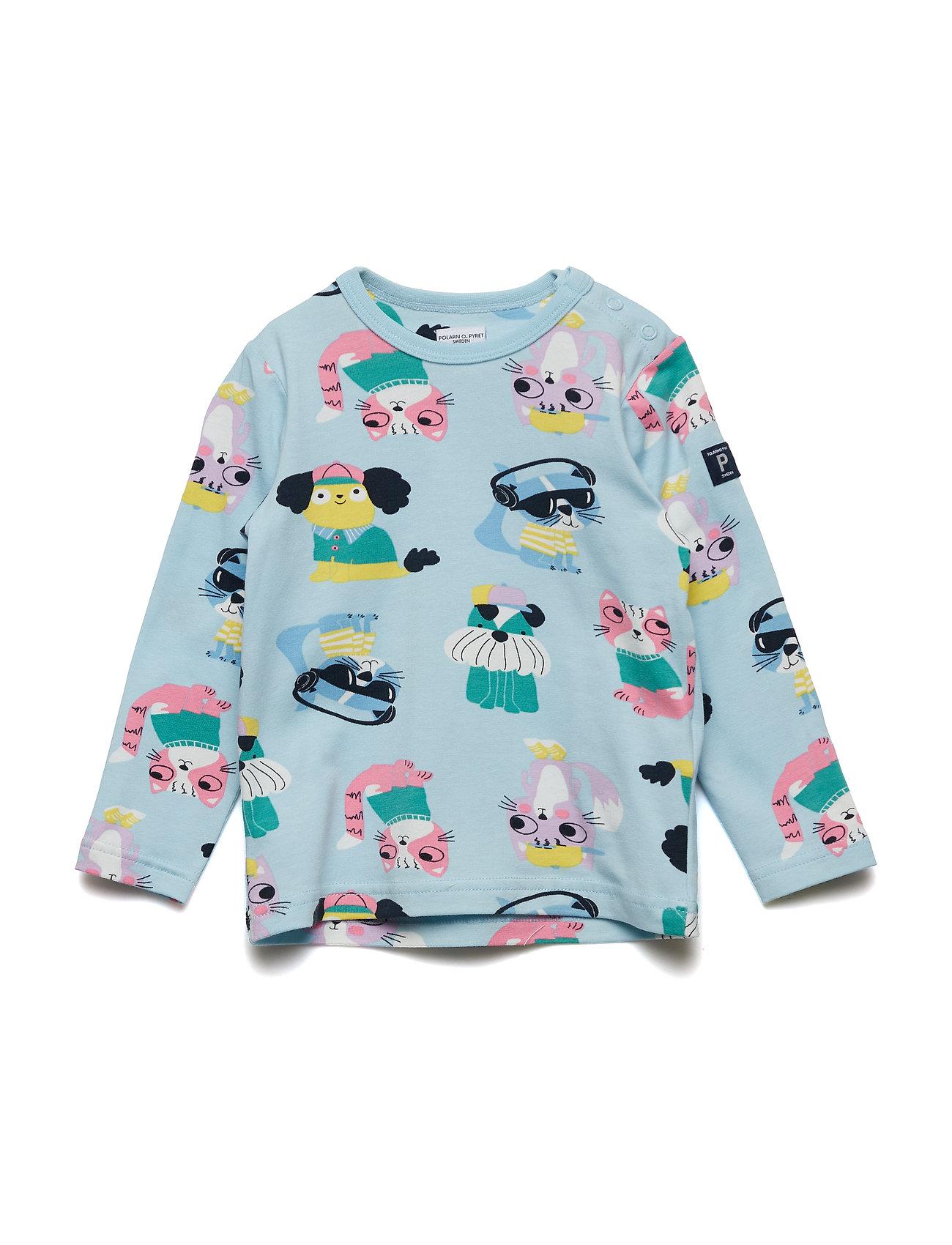 Polarn O. Pyret T-shirt l/s AOP Preschool