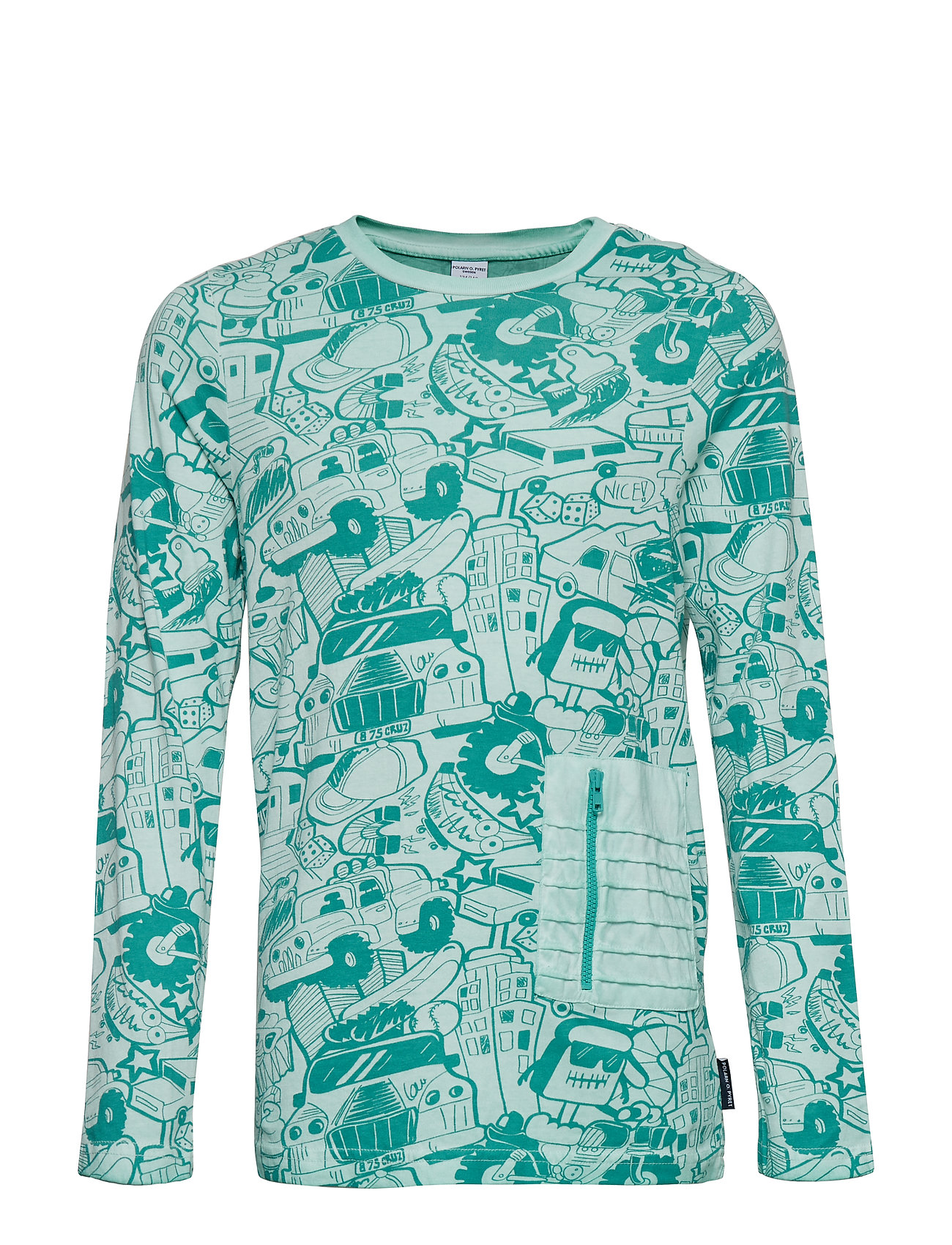 Polarn O. Pyret T-Shirt l/s  front print school