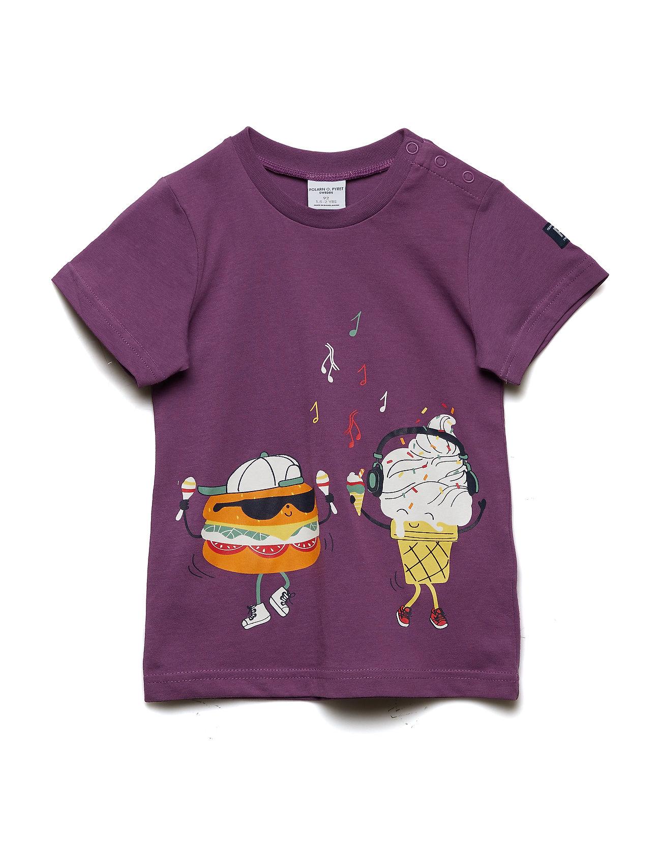 Polarn O. Pyret T-shirt Frontprint s/s Preschool