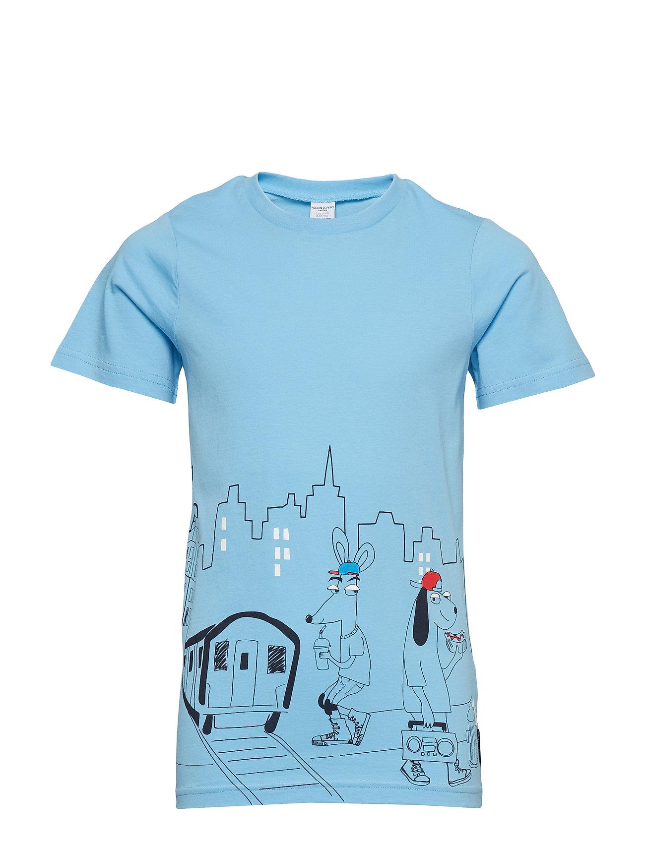 Polarn O. Pyret T-shirt Frontprint s/s School