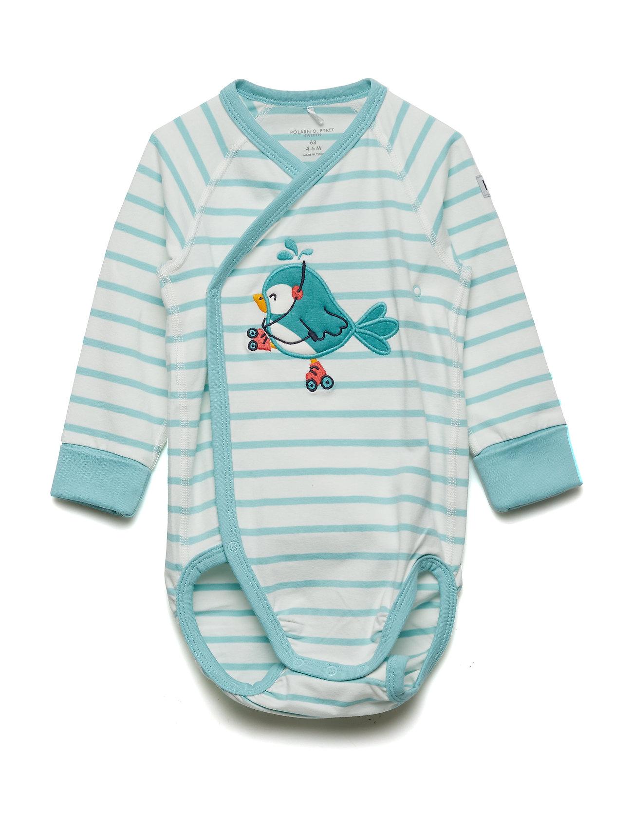 Polarn O. Pyret Body Wrapover PO.P Stripe Baby