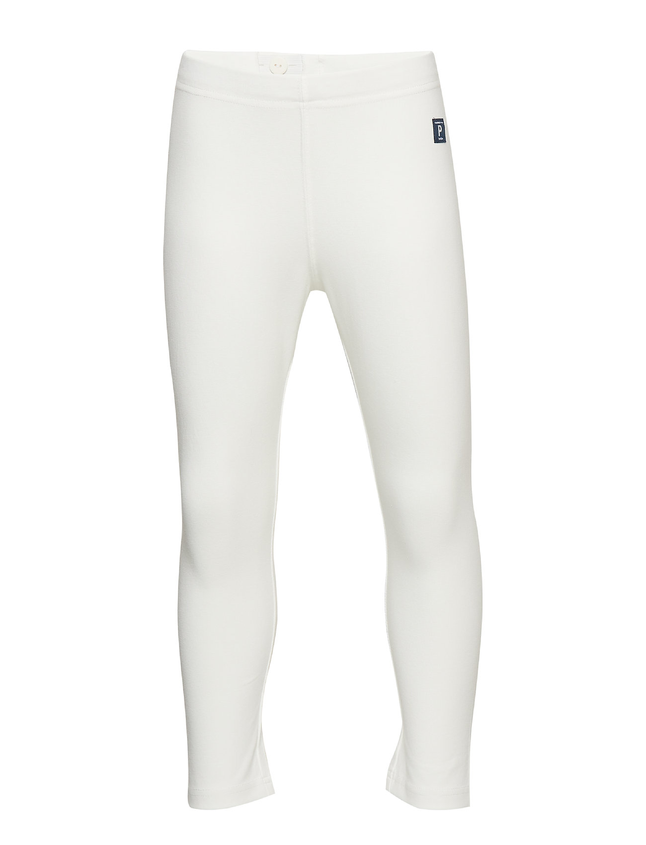 Polarn O. Pyret Leggings Solid School - SNOW WHITE