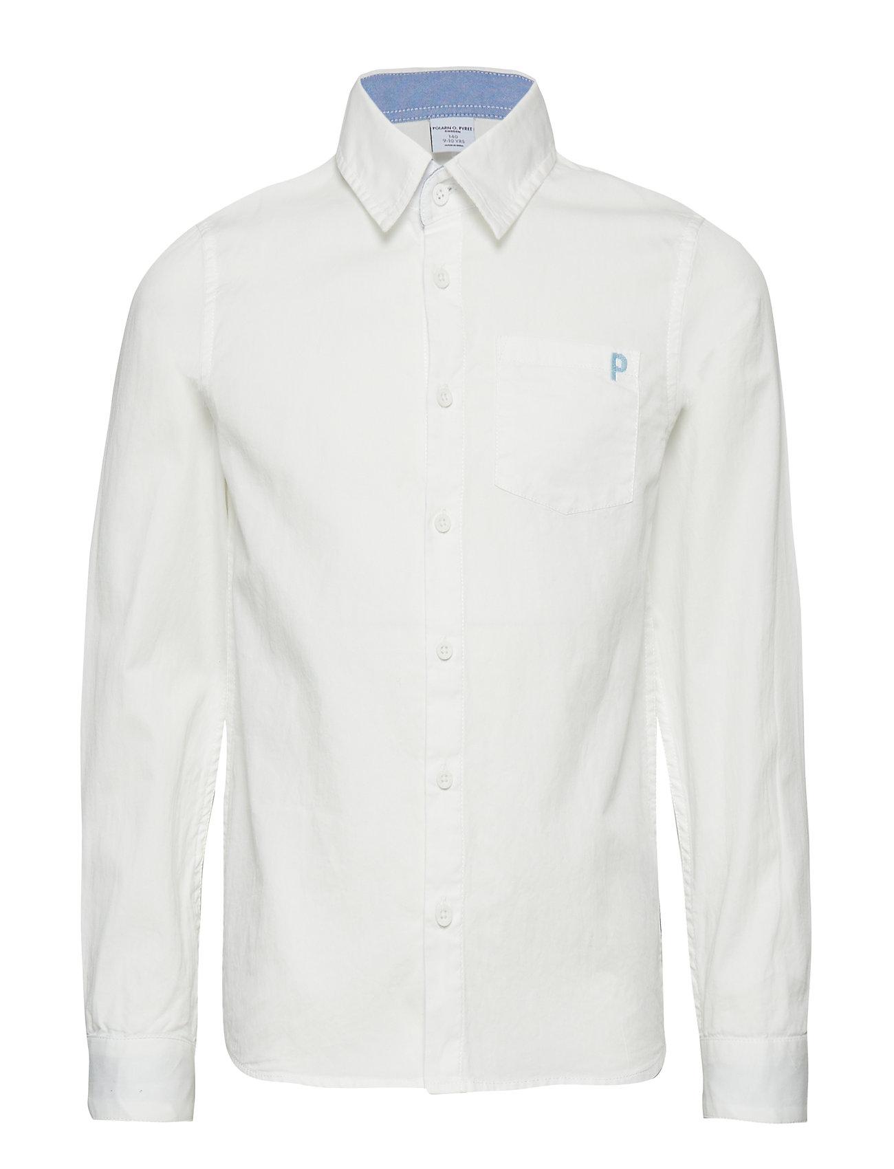 Polarn O. Pyret Shirt l/s W Embroidery School