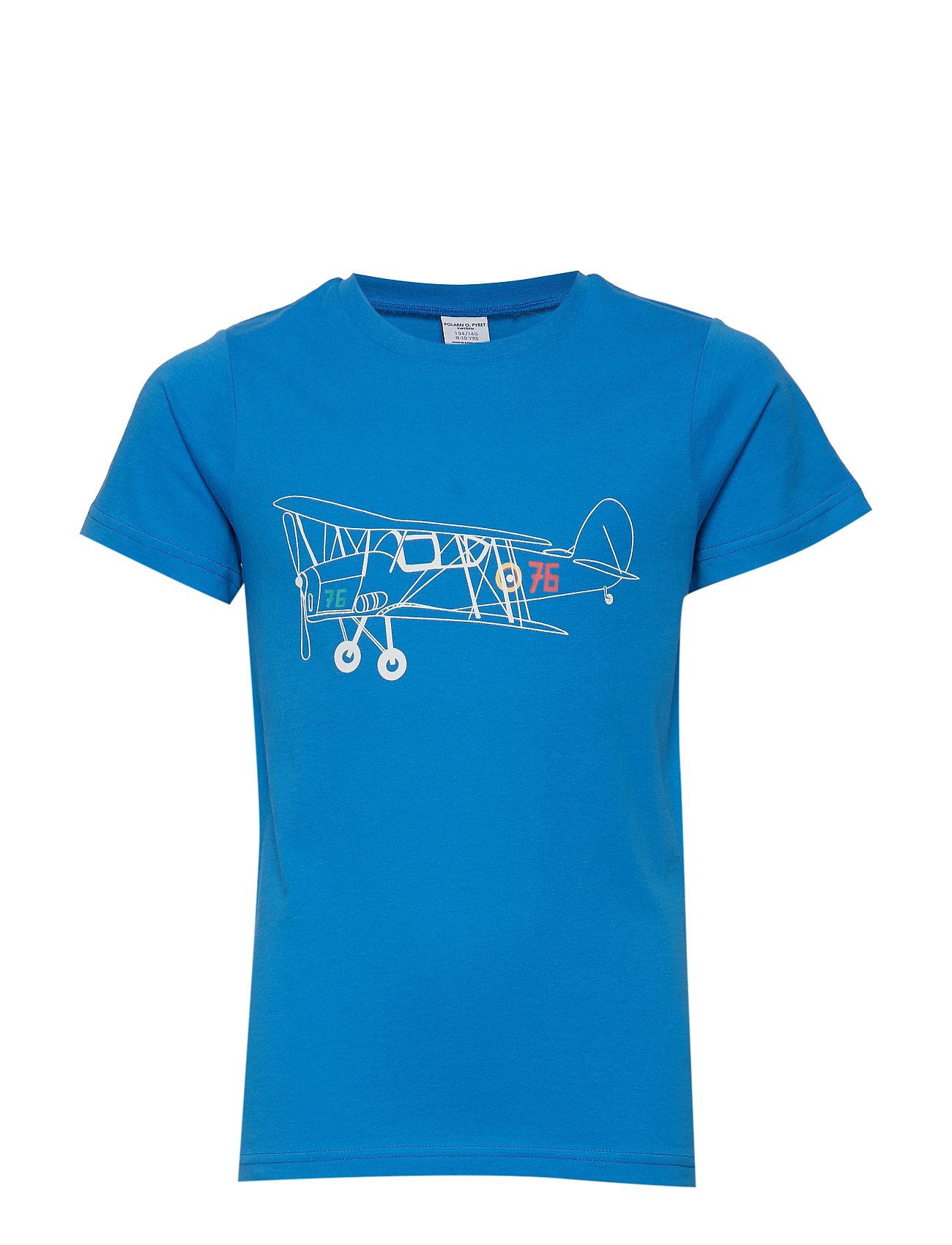 Polarn O. Pyret T-shirt s/s Frontprint School