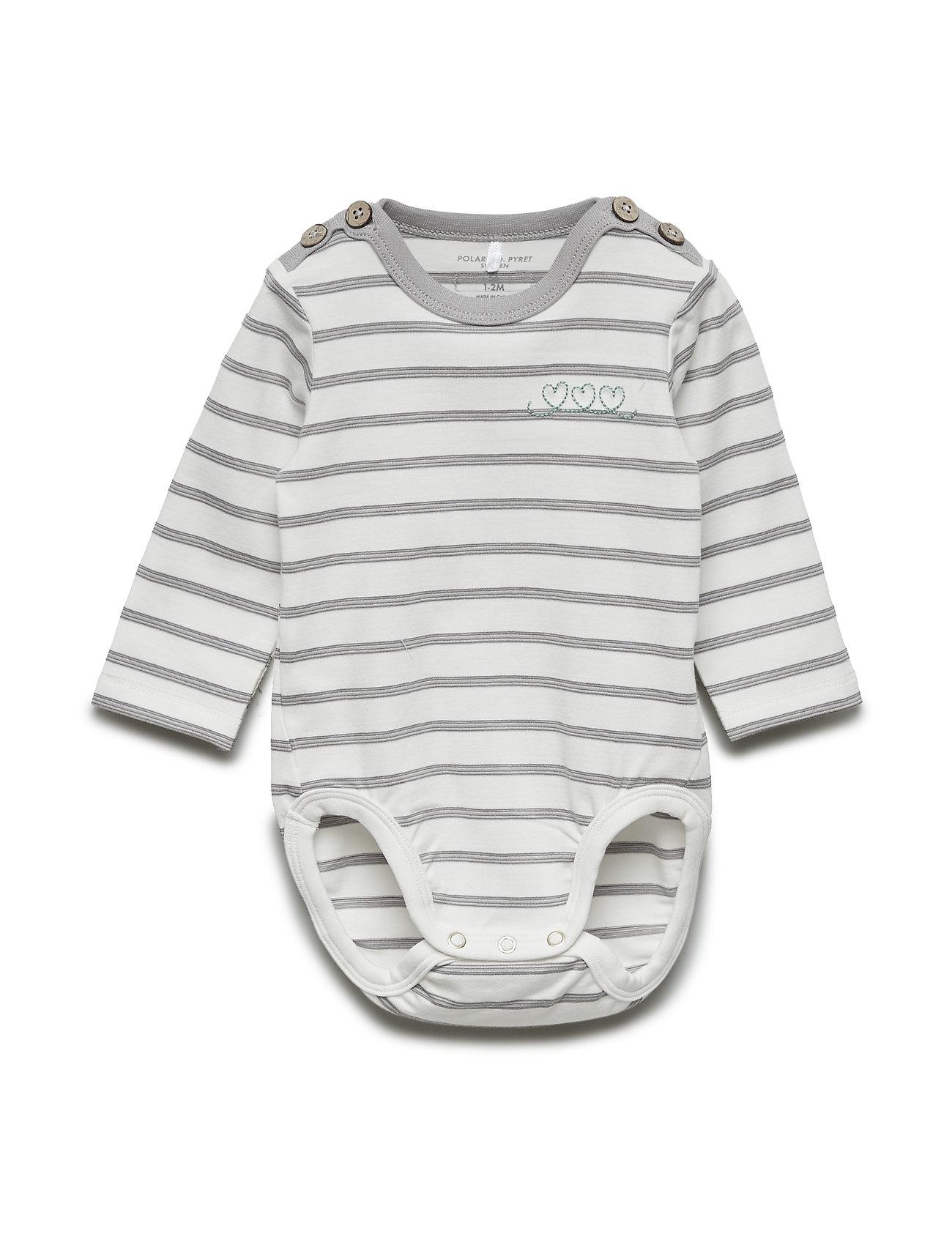 80d7aabb1185 Body Po.p Stripe Baby (Snow White) (17.18 €) - Polarn O. Pyret ...