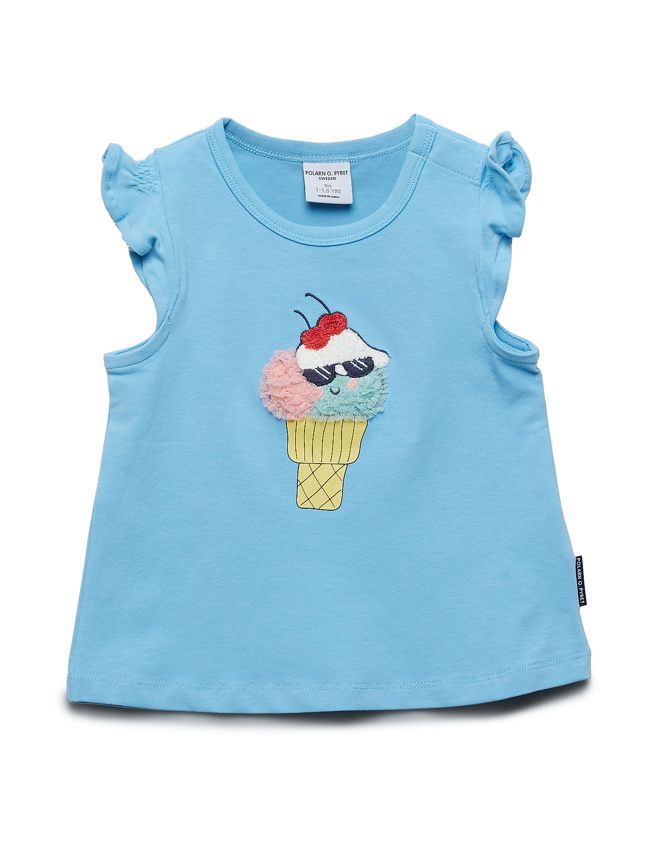 Polarn O. Pyret Top s/s print Preschool