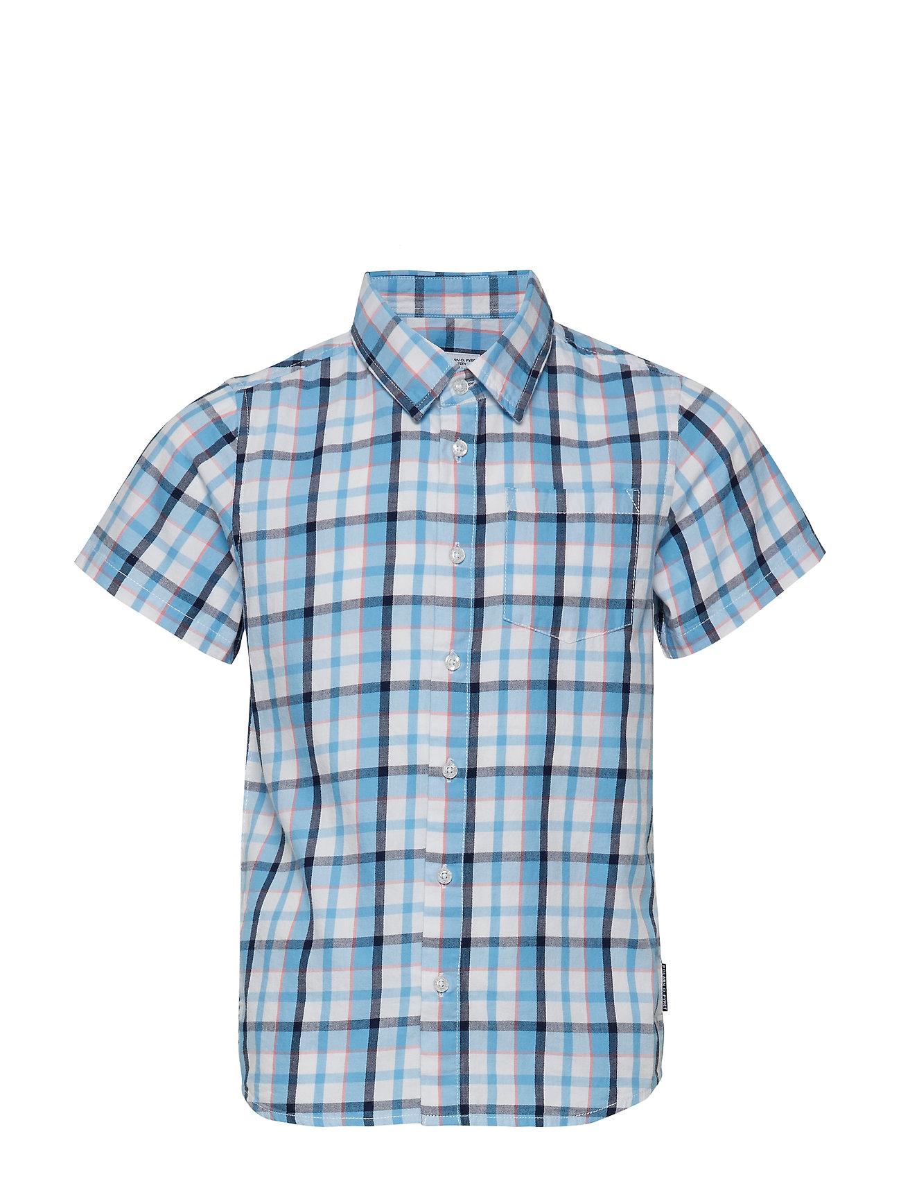 Polarn O. Pyret Shirt S/S Check School
