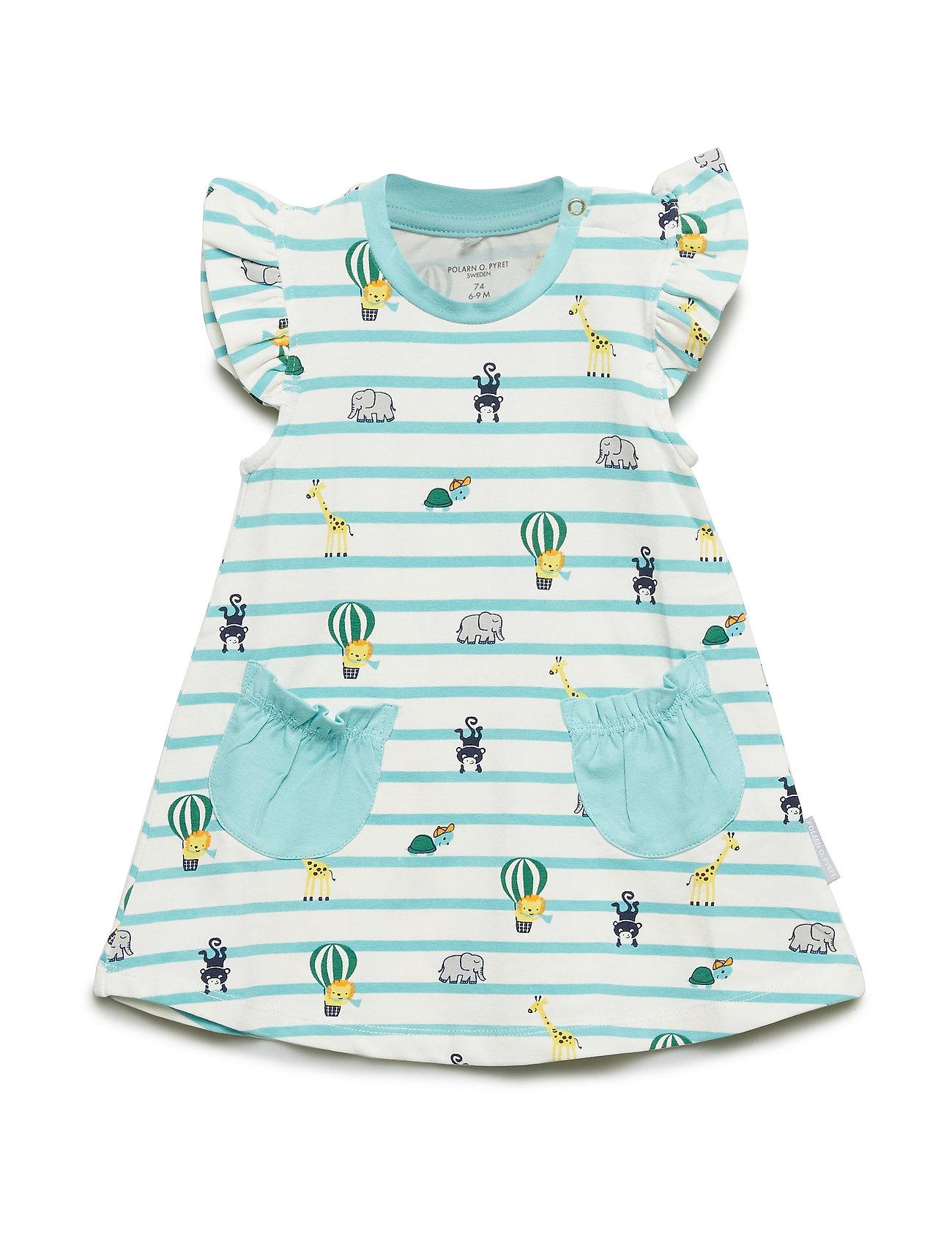 Polarn O. Pyret Dress AOP Baby