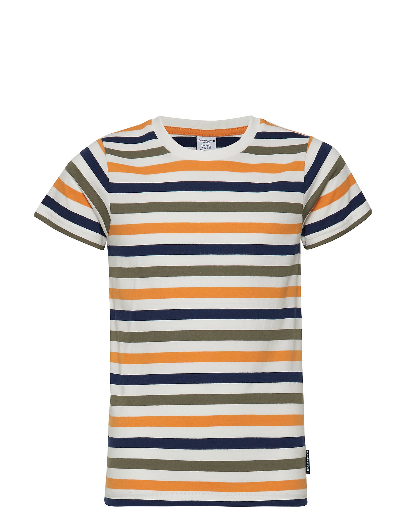 Polarn O. Pyret T-shirt S/S Striped School